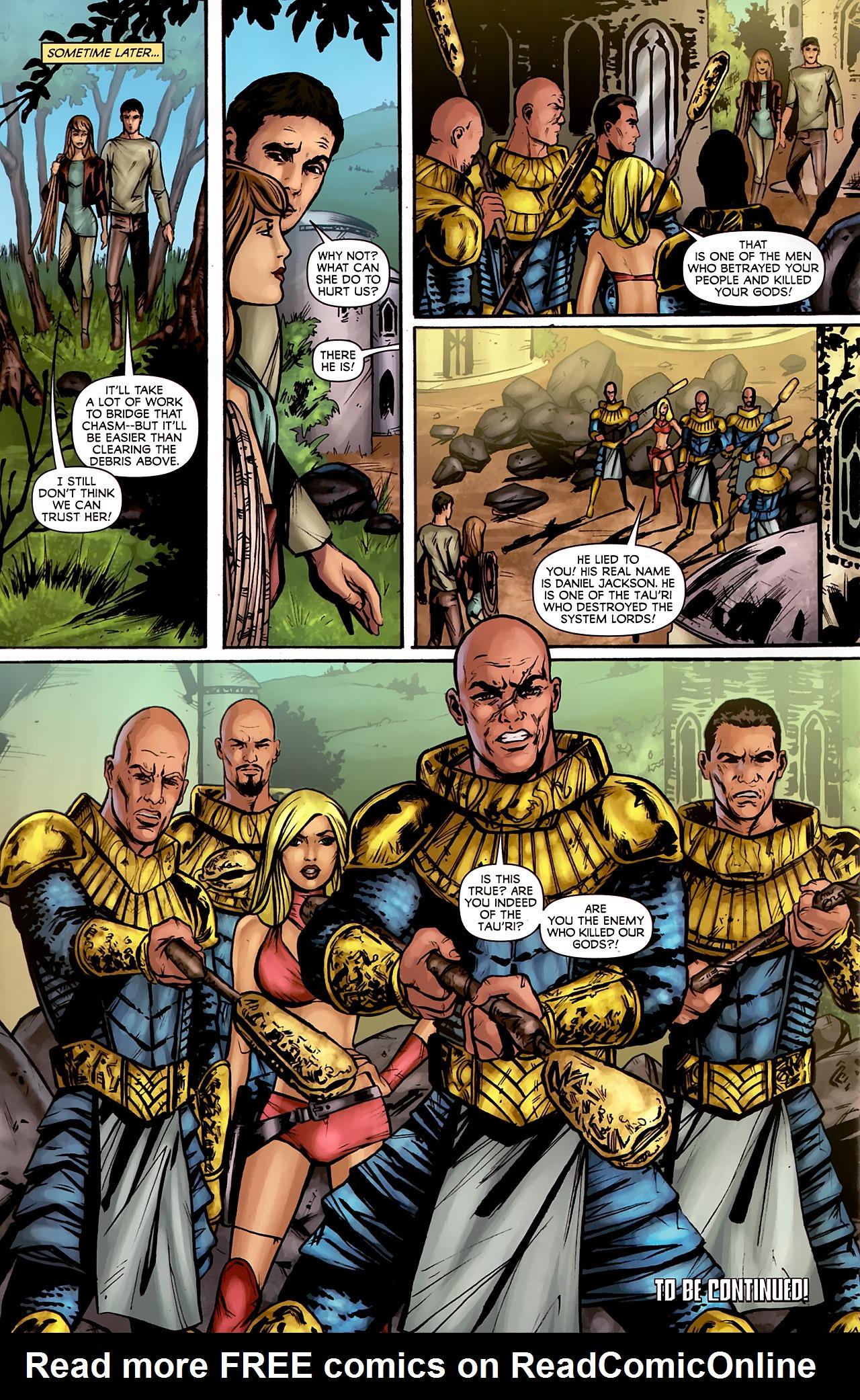 Read online Stargate: Daniel Jackson comic -  Issue #2 - 24