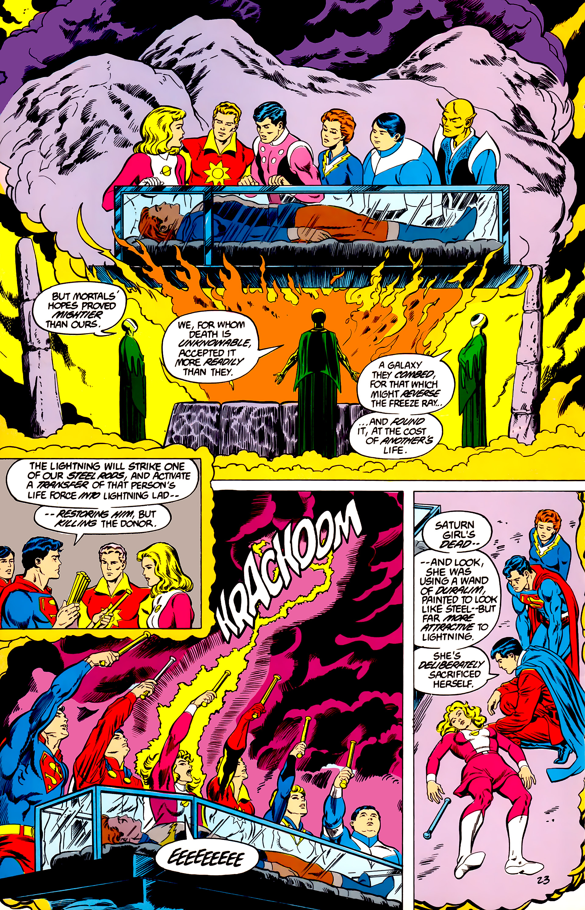 Legion of Super-Heroes (1984) 45 Page 23
