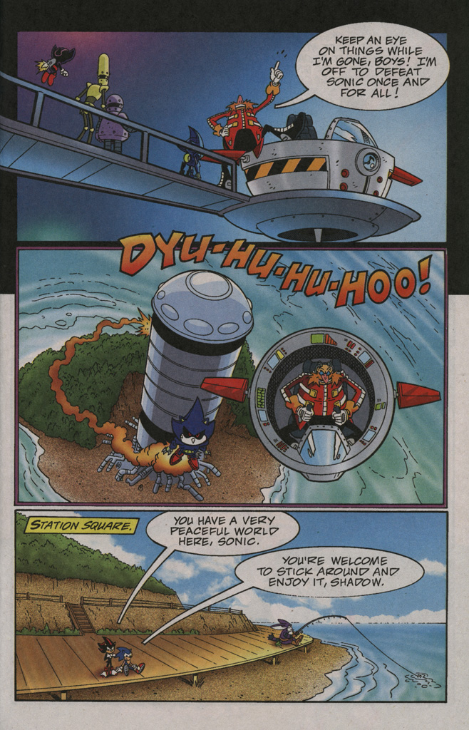 Read online Sonic X comic -  Issue #40 - 23