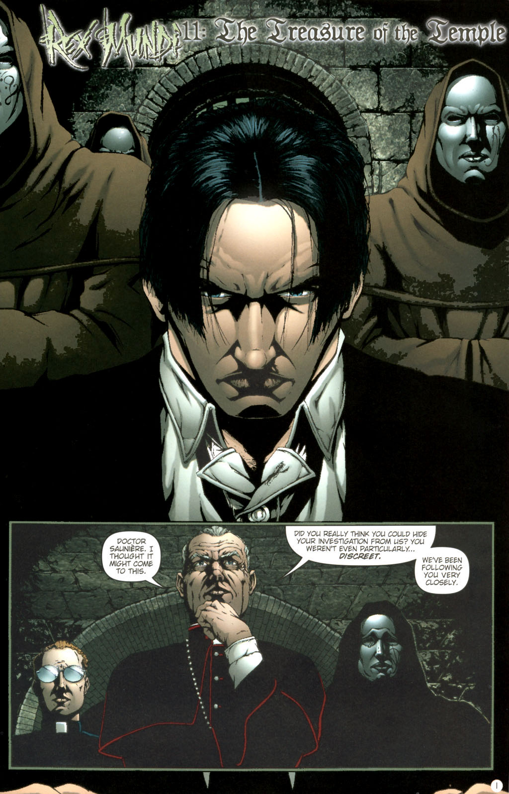 Read online Rex Mundi comic -  Issue #11 - 5