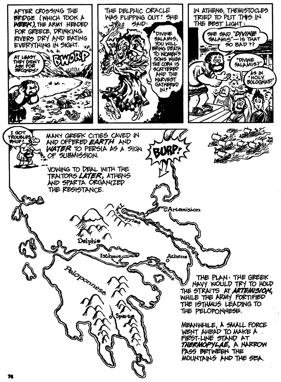 Read online The Cartoon History of the Universe comic -  Issue #6 - 40