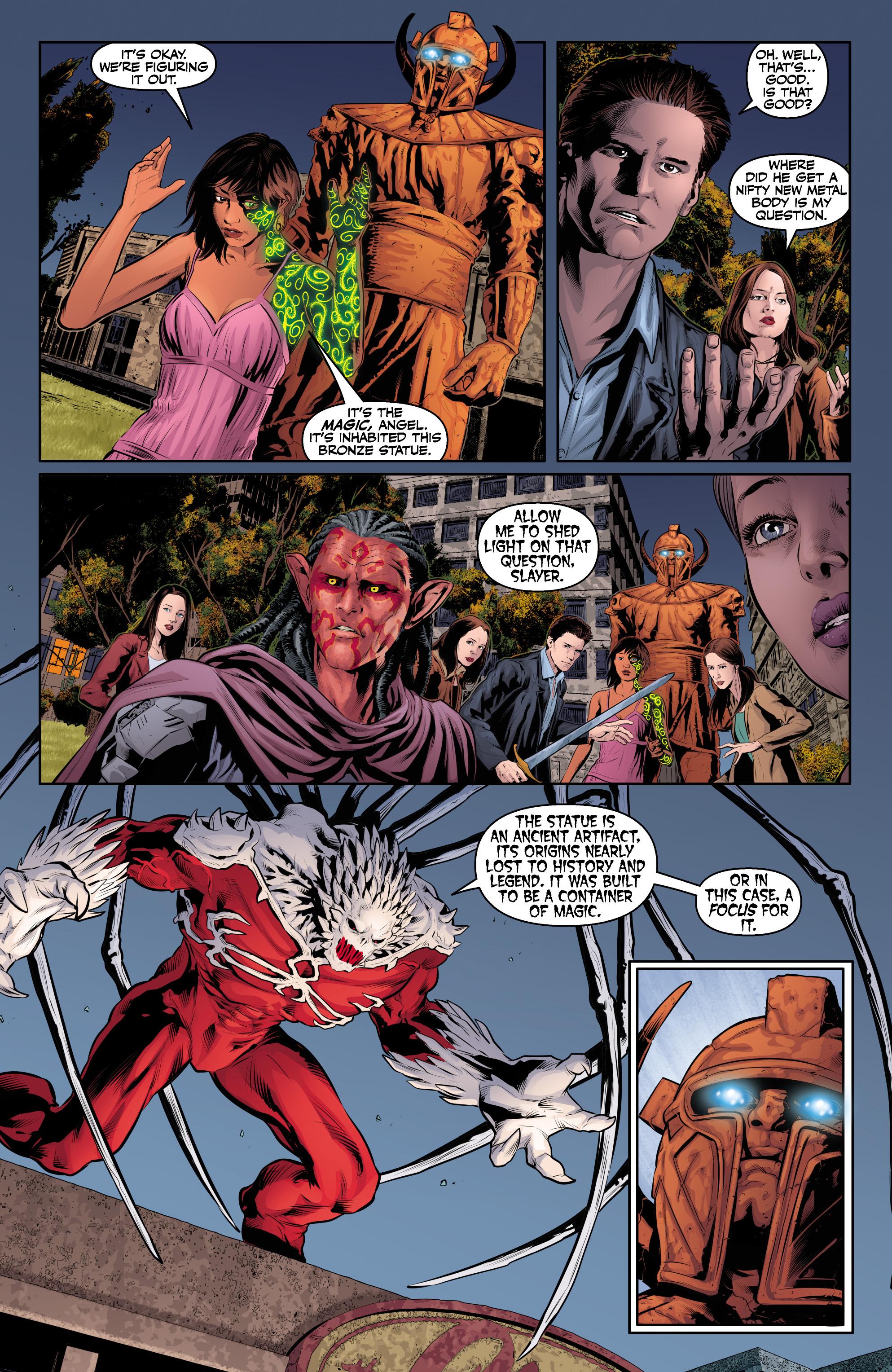 Read online Angel & Faith Season 10 comic -  Issue #24 - 12