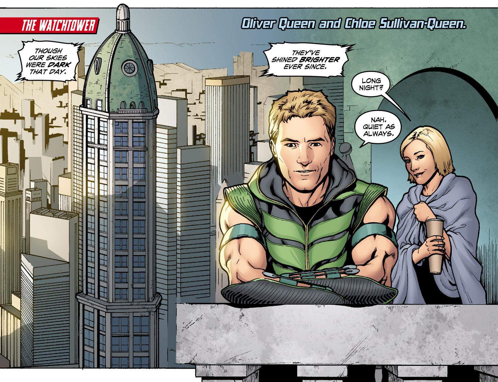 Read online Smallville: Season 11 comic -  Issue #1 - 4