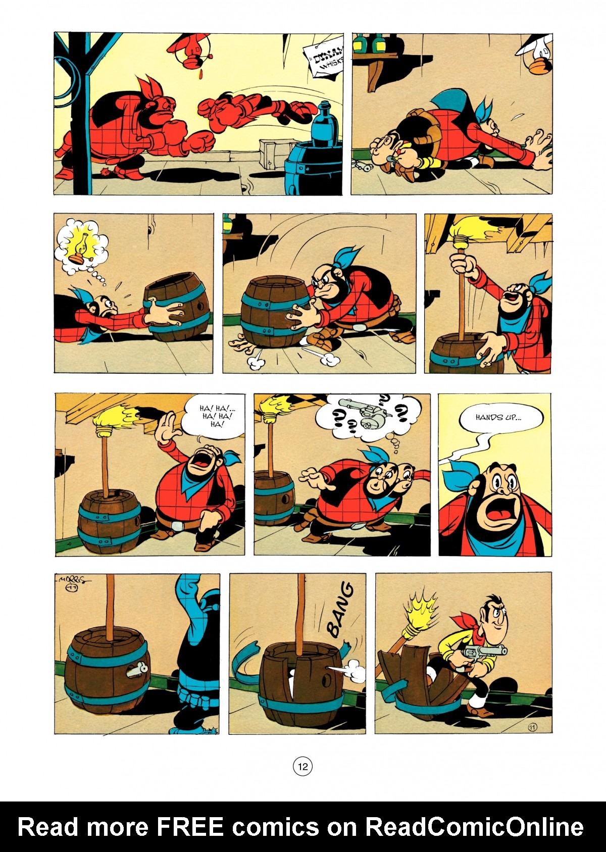 Read online A Lucky Luke Adventure comic -  Issue #48 - 12