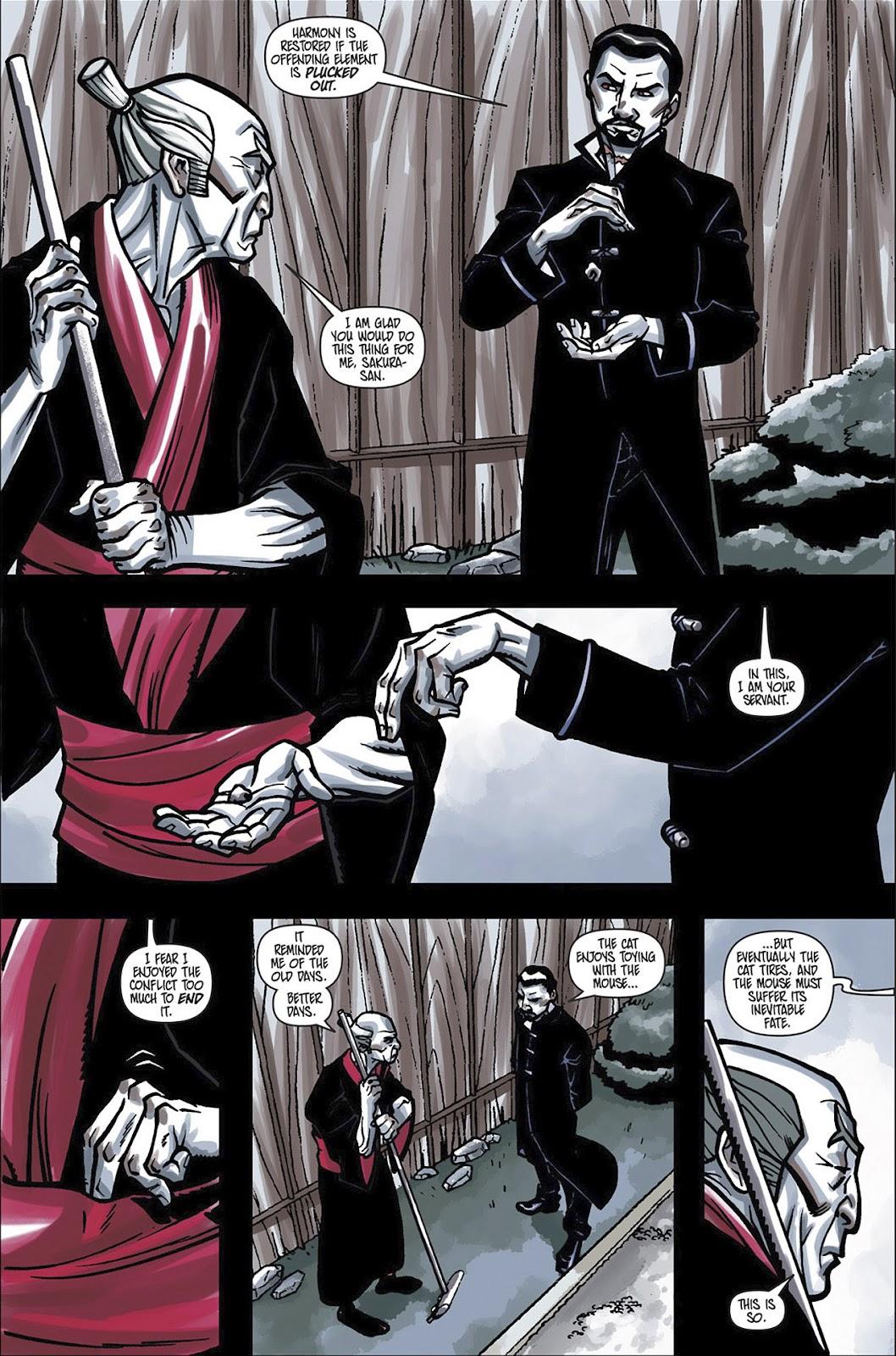 Read online Shinku comic -  Issue #3 - 5