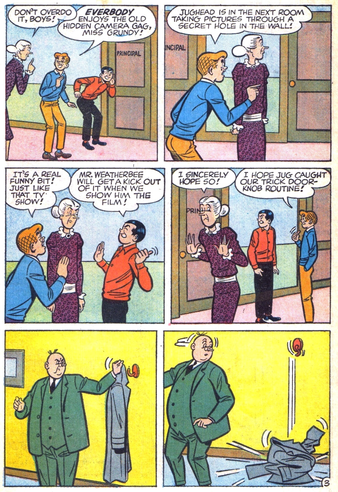 Read online Archie (1960) comic -  Issue #169 - 30