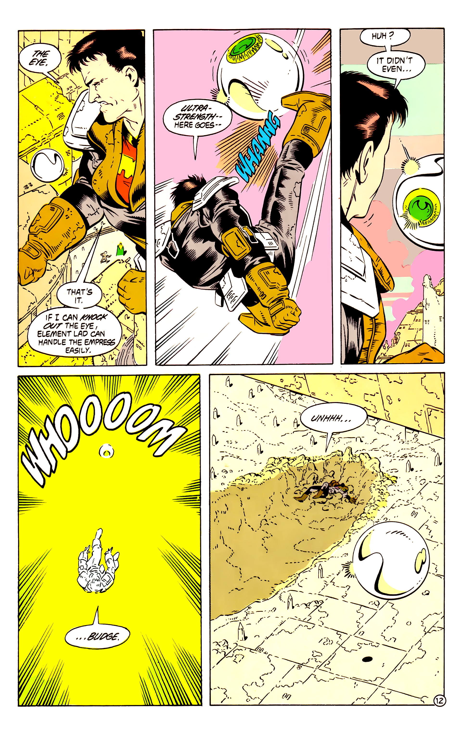 Legion of Super-Heroes (1984) 58 Page 12