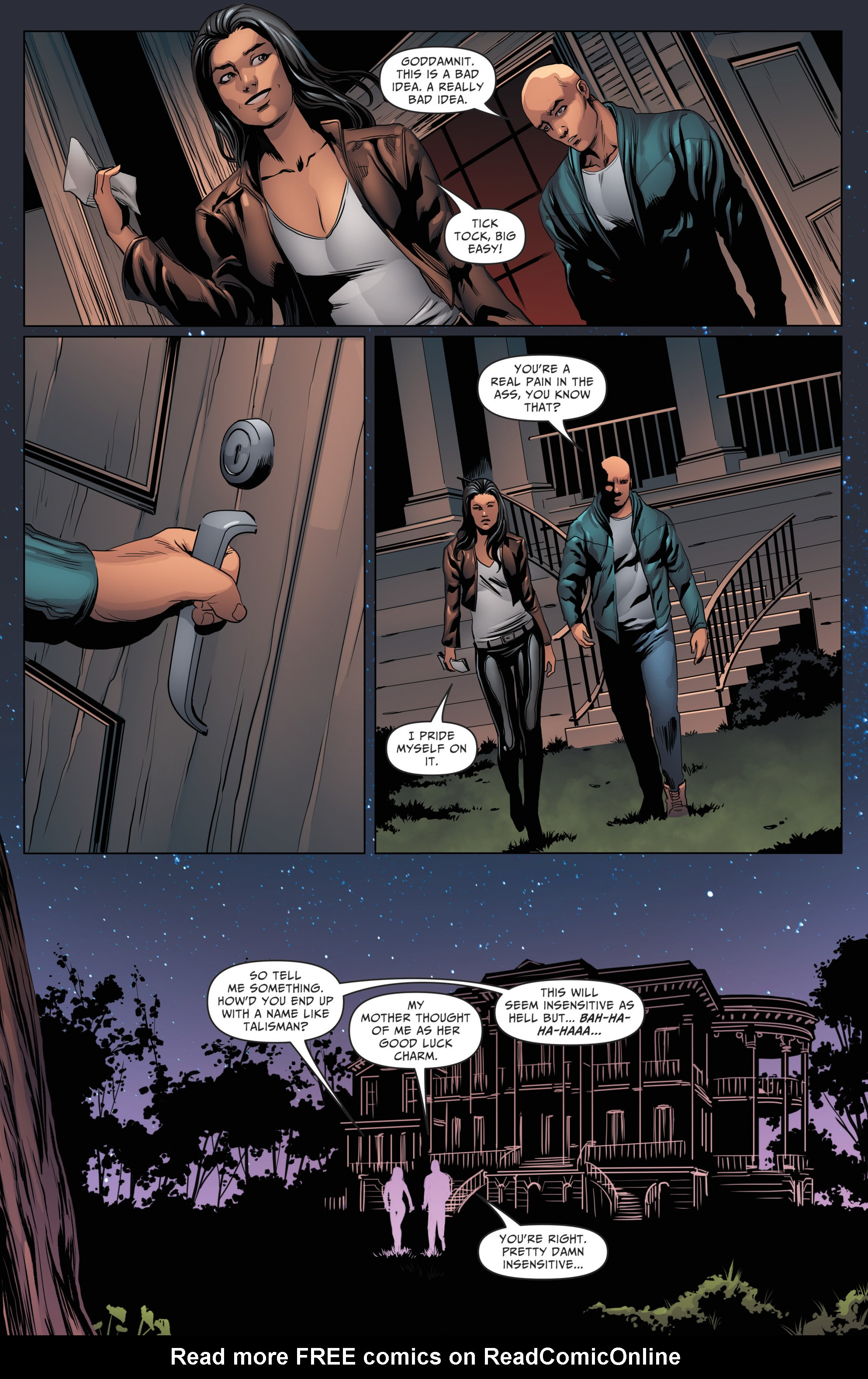Read online Grimm Fairy Tales: Day of the Dead comic -  Issue #4 - 13