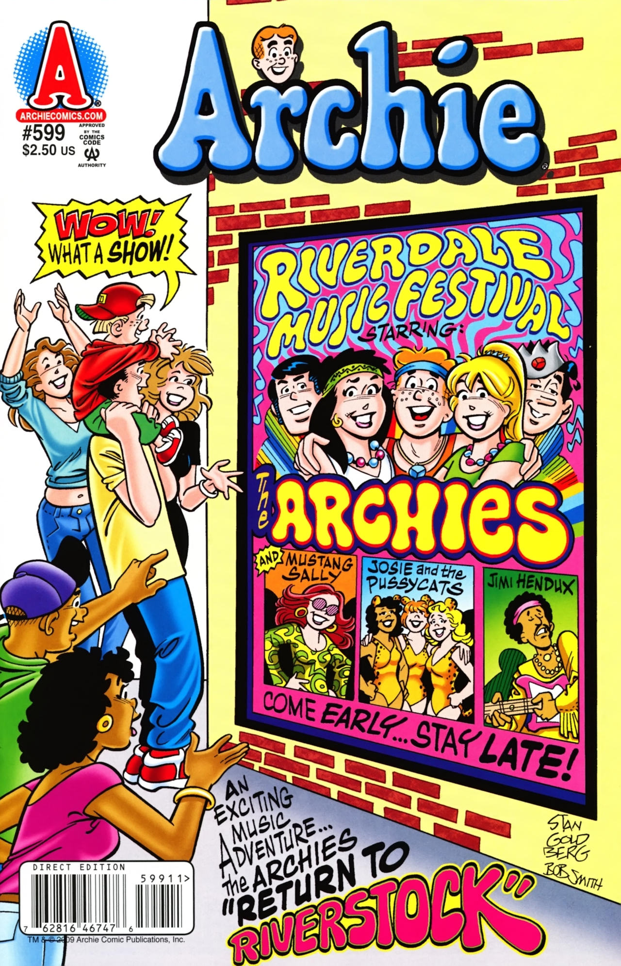 Read online Archie (1960) comic -  Issue #599 - 1