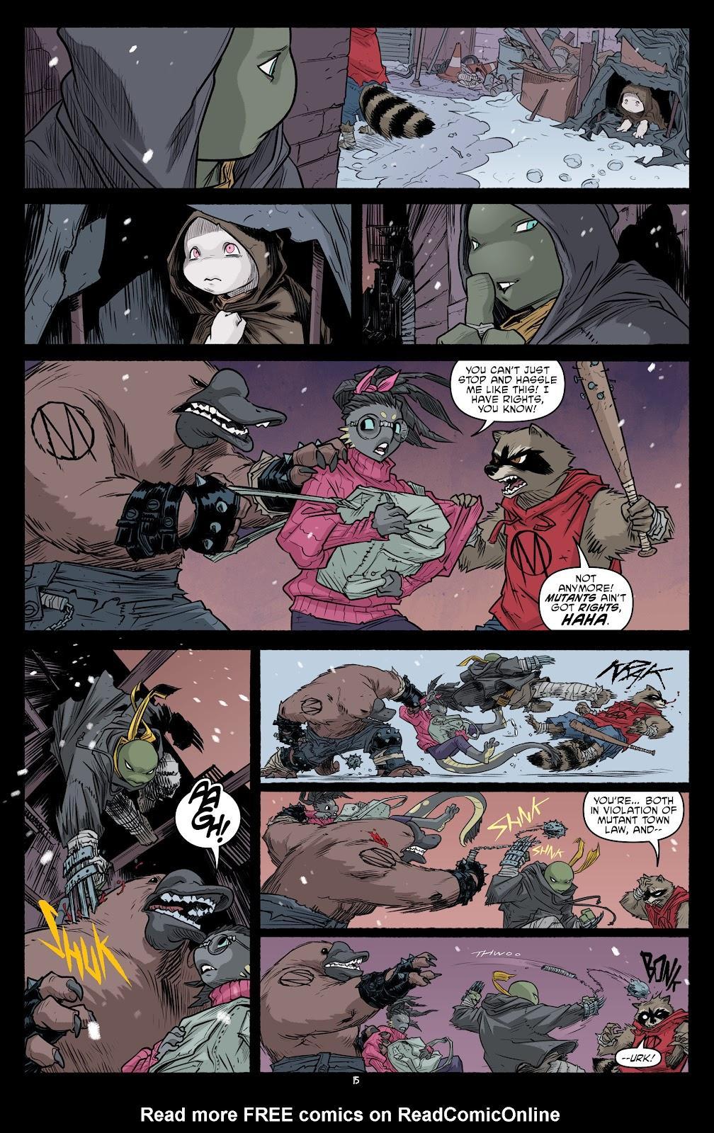 Read online Teenage Mutant Ninja Turtles (2011) comic -  Issue #101 - 17