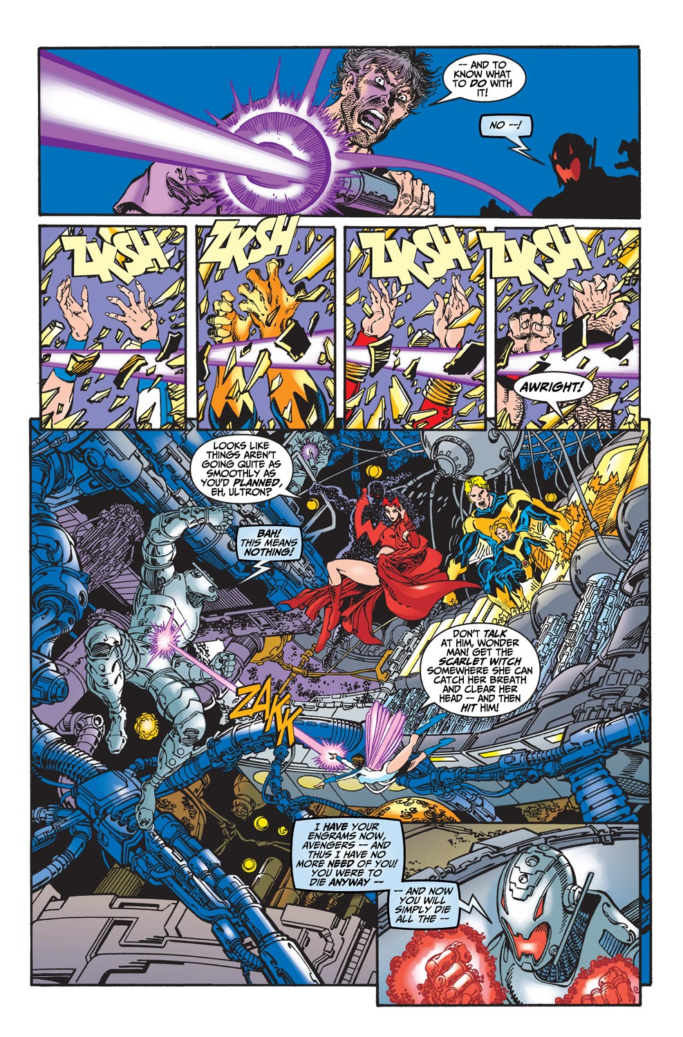 Read online Avengers (1998) comic -  Issue #22 - 13