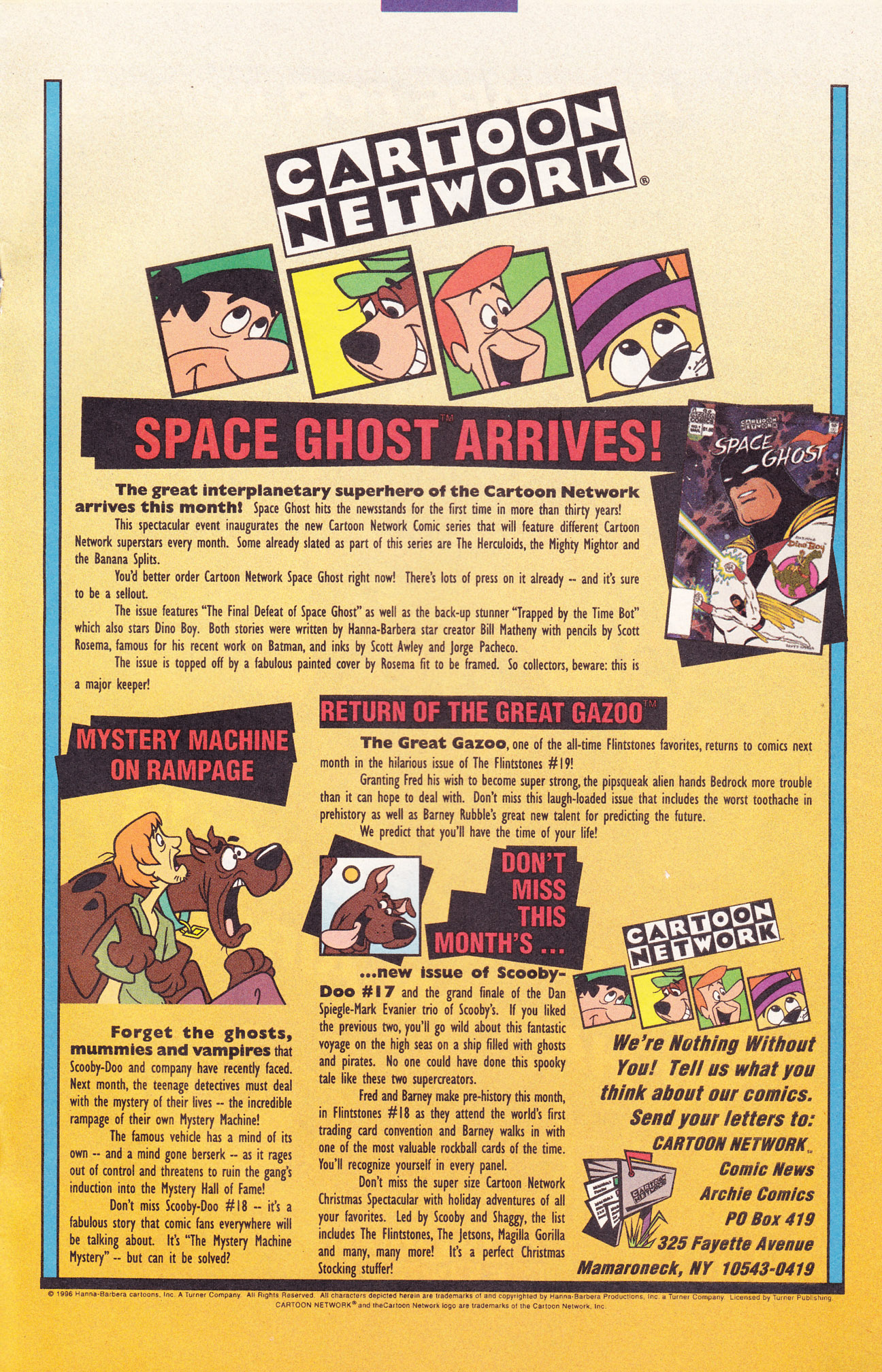 Read online Scooby-Doo (1995) comic -  Issue #17 - 19