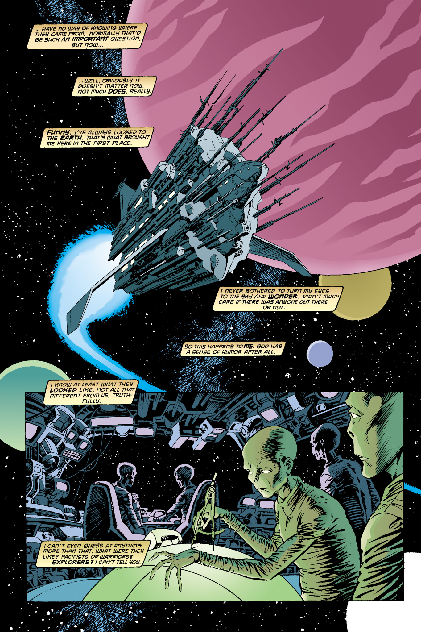 Read online Aliens: Incubation/Lucky/Taste comic -  Issue # Full - 4