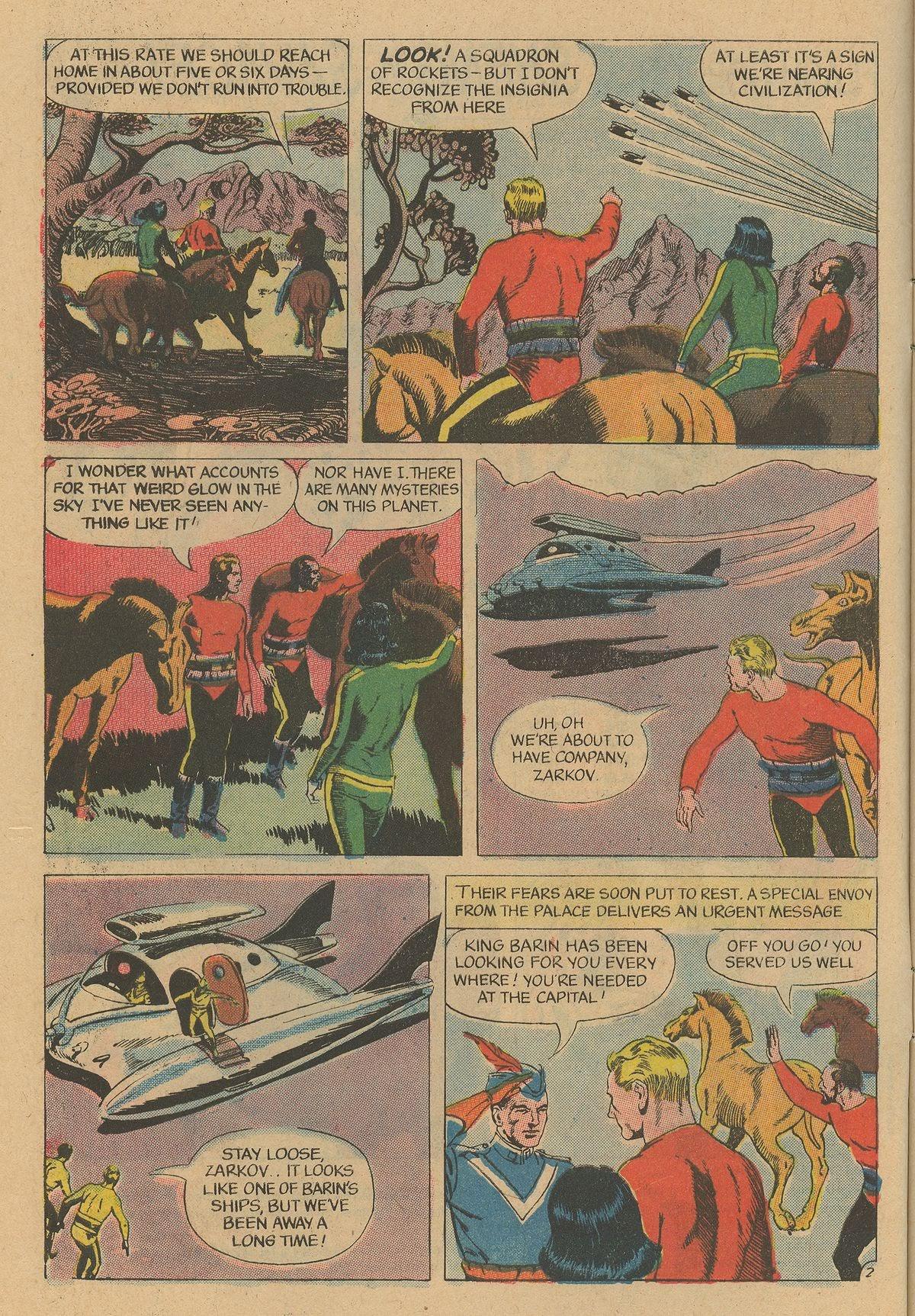 Flash Gordon (1969) issue 12 - Page 4