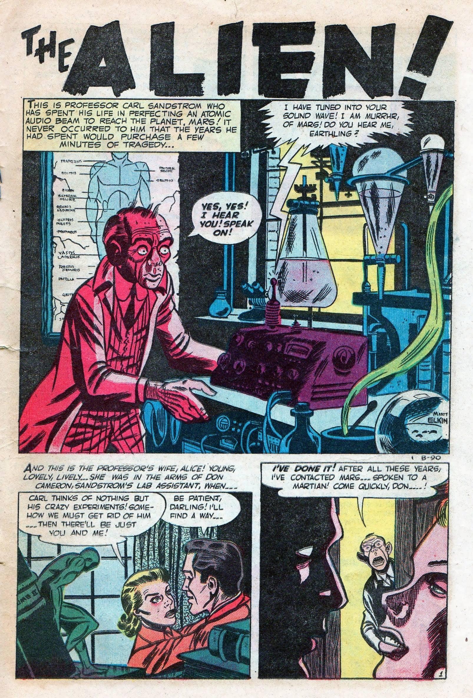 Read online Adventures into Weird Worlds comic -  Issue #11 - 23