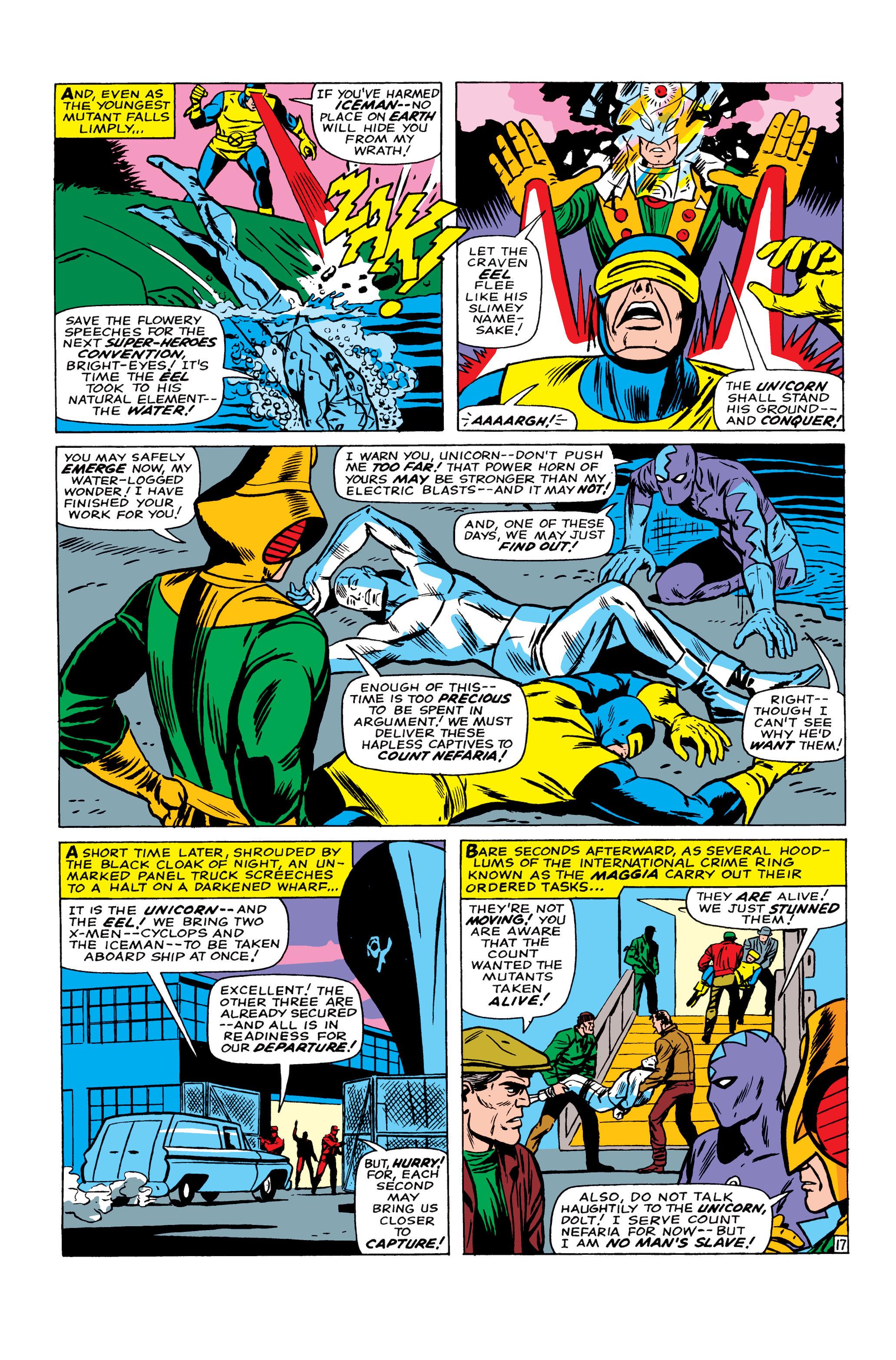 Read online Uncanny X-Men (1963) comic -  Issue #22 - 18