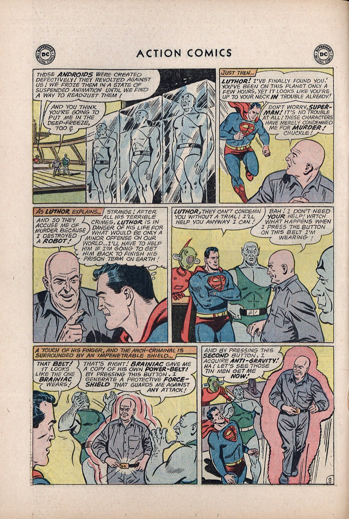 Read online Action Comics (1938) comic -  Issue #292 - 10