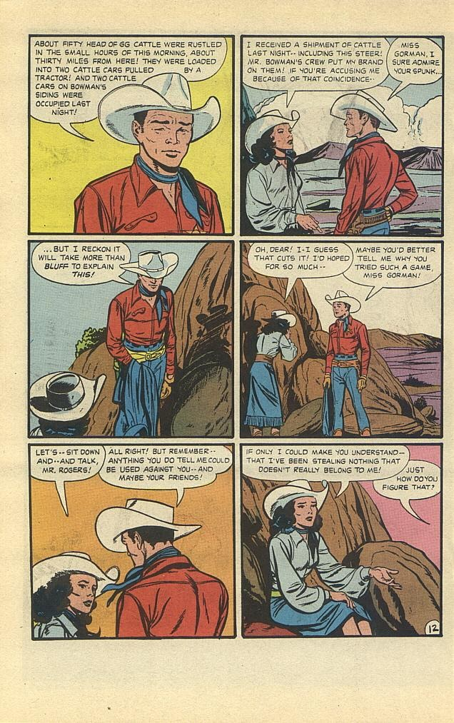 Read online Roy Rogers comic -  Issue #3 - 27