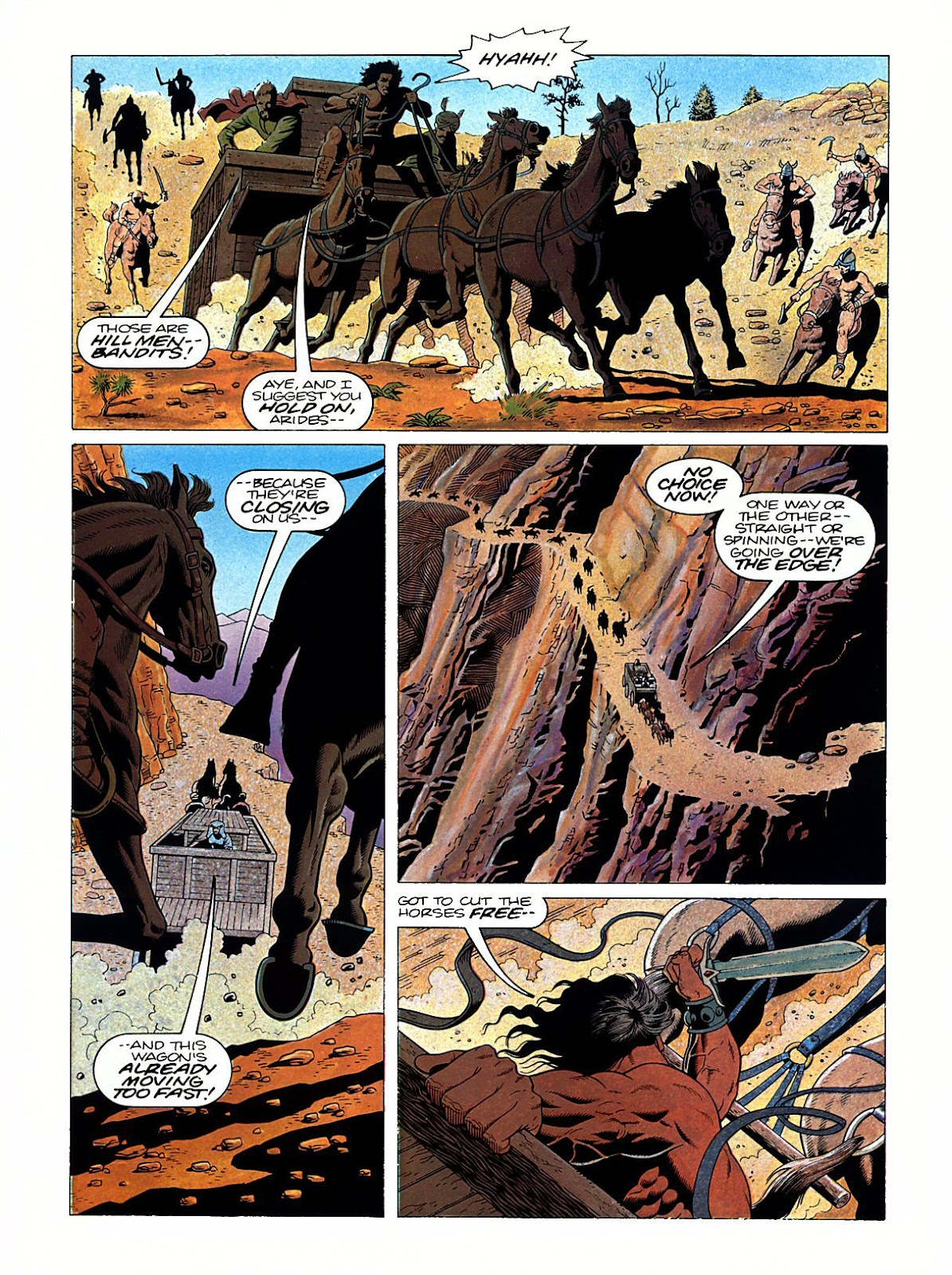 Read online Marvel Graphic Novel: Conan the Barbarian: The Skull of Set comic -  Issue # Full - 27