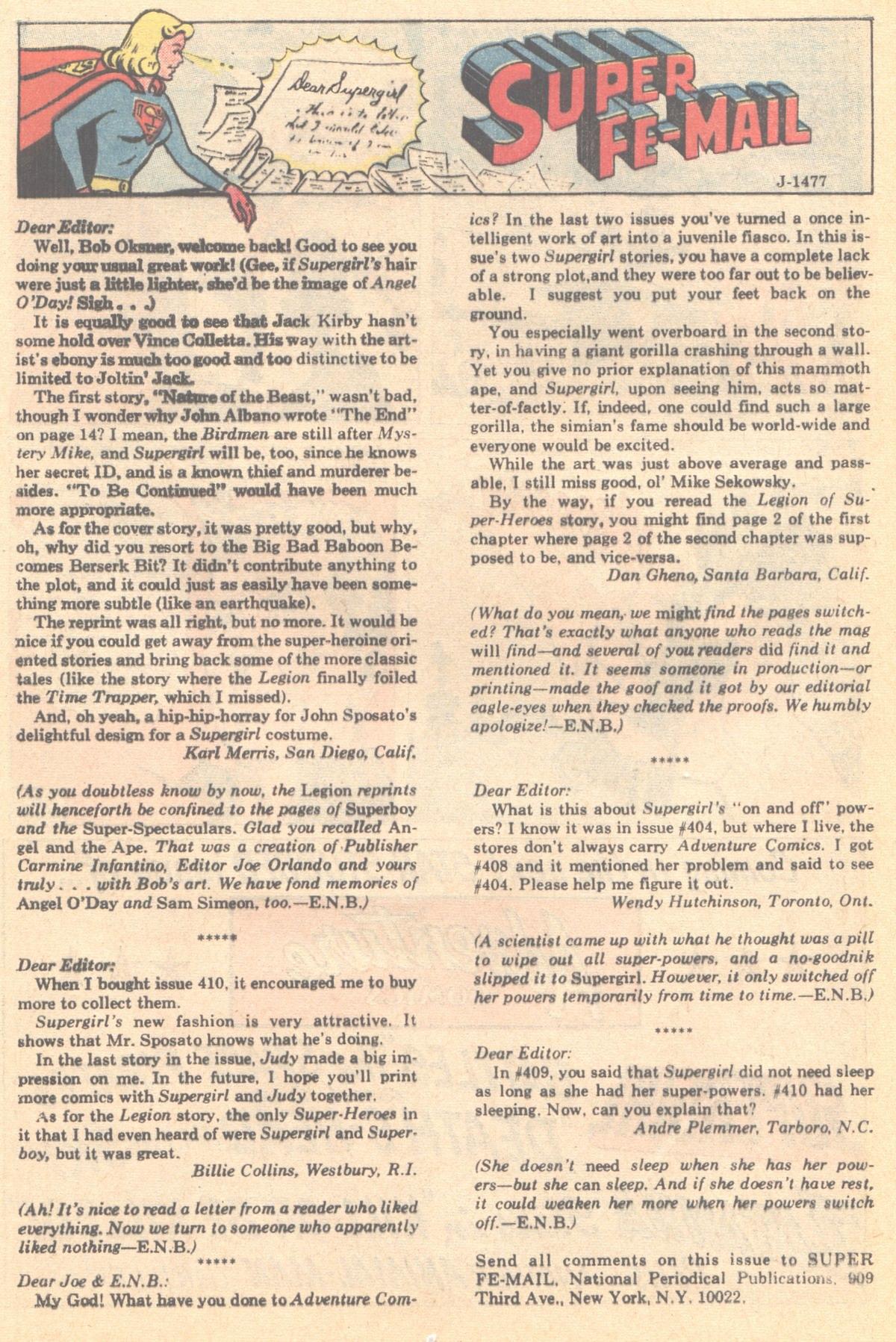 Read online Adventure Comics (1938) comic -  Issue #414 - 40