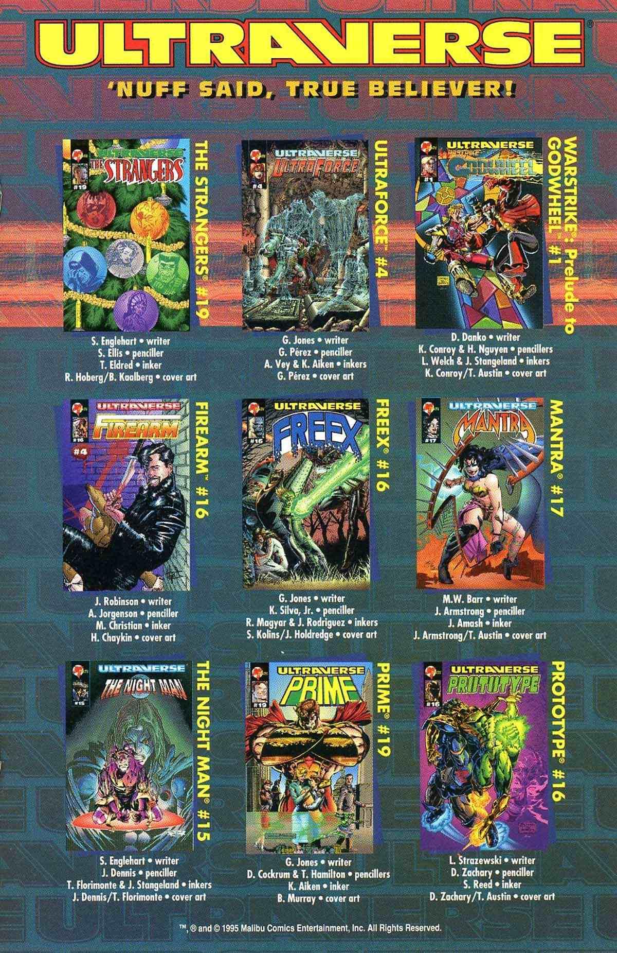 Read online Ultraverse Premiere comic -  Issue #10 - 42