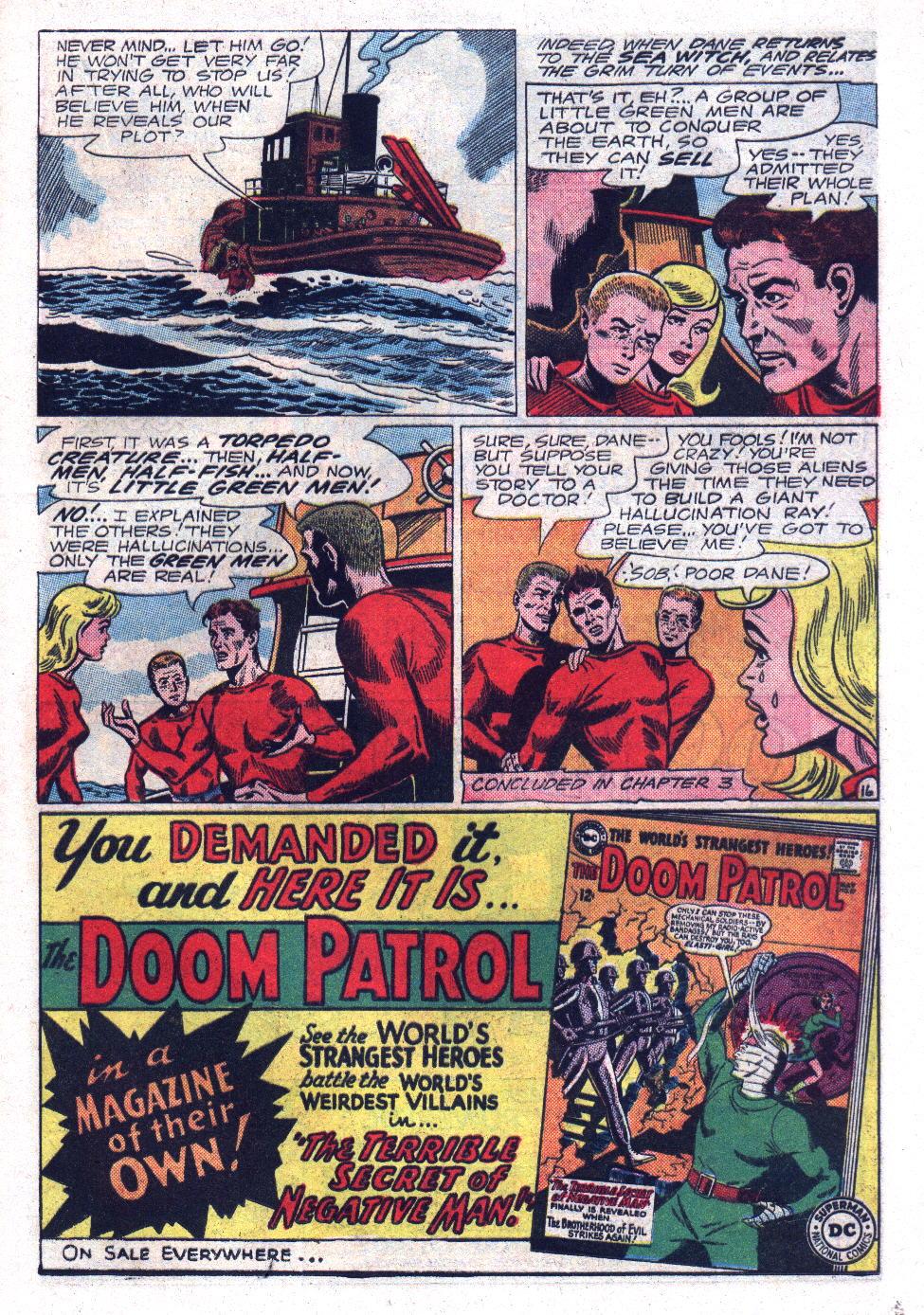 Read online Sea Devils comic -  Issue #17 - 21