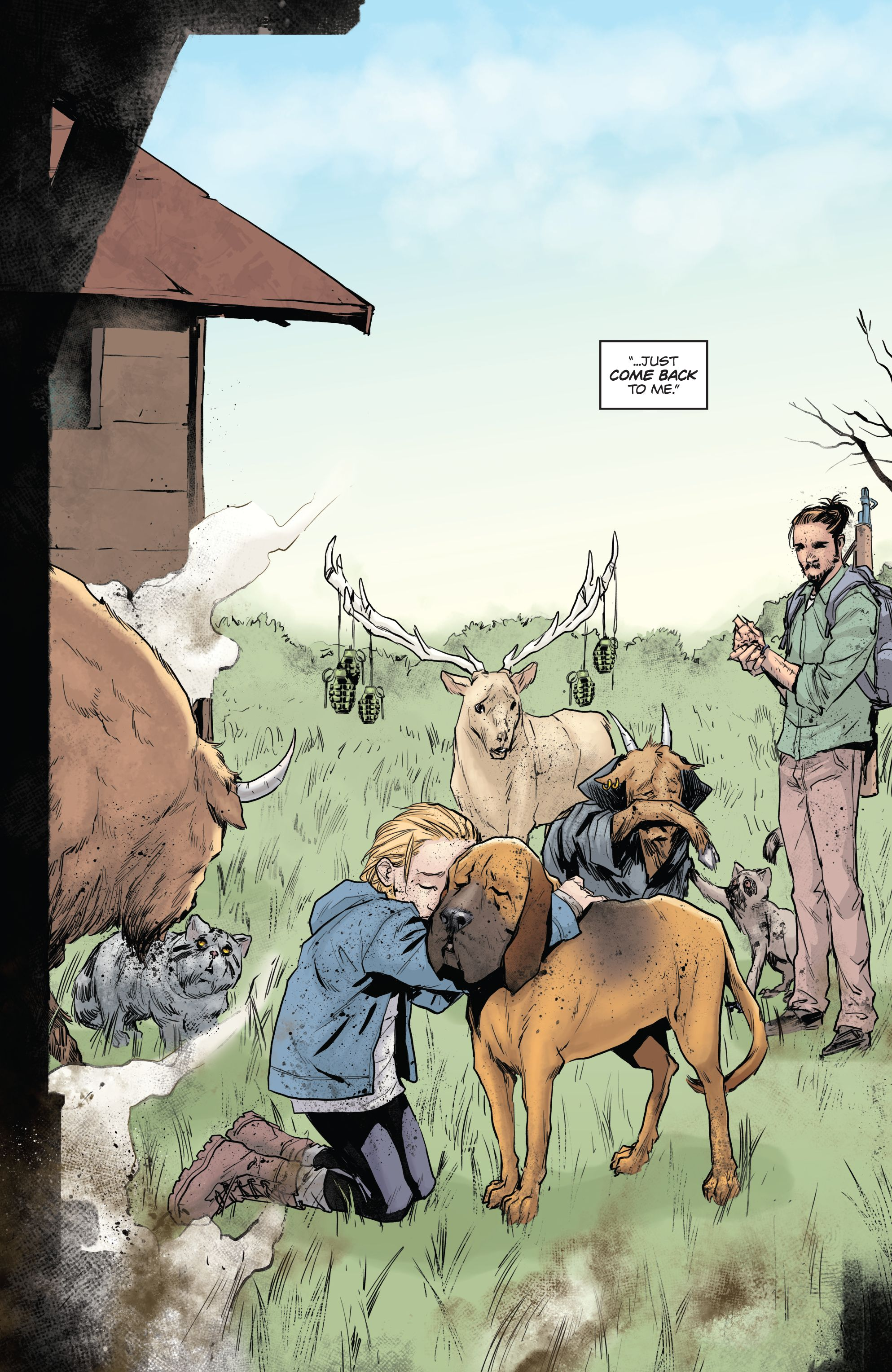 Read online Animosity comic -  Issue #7 - 11