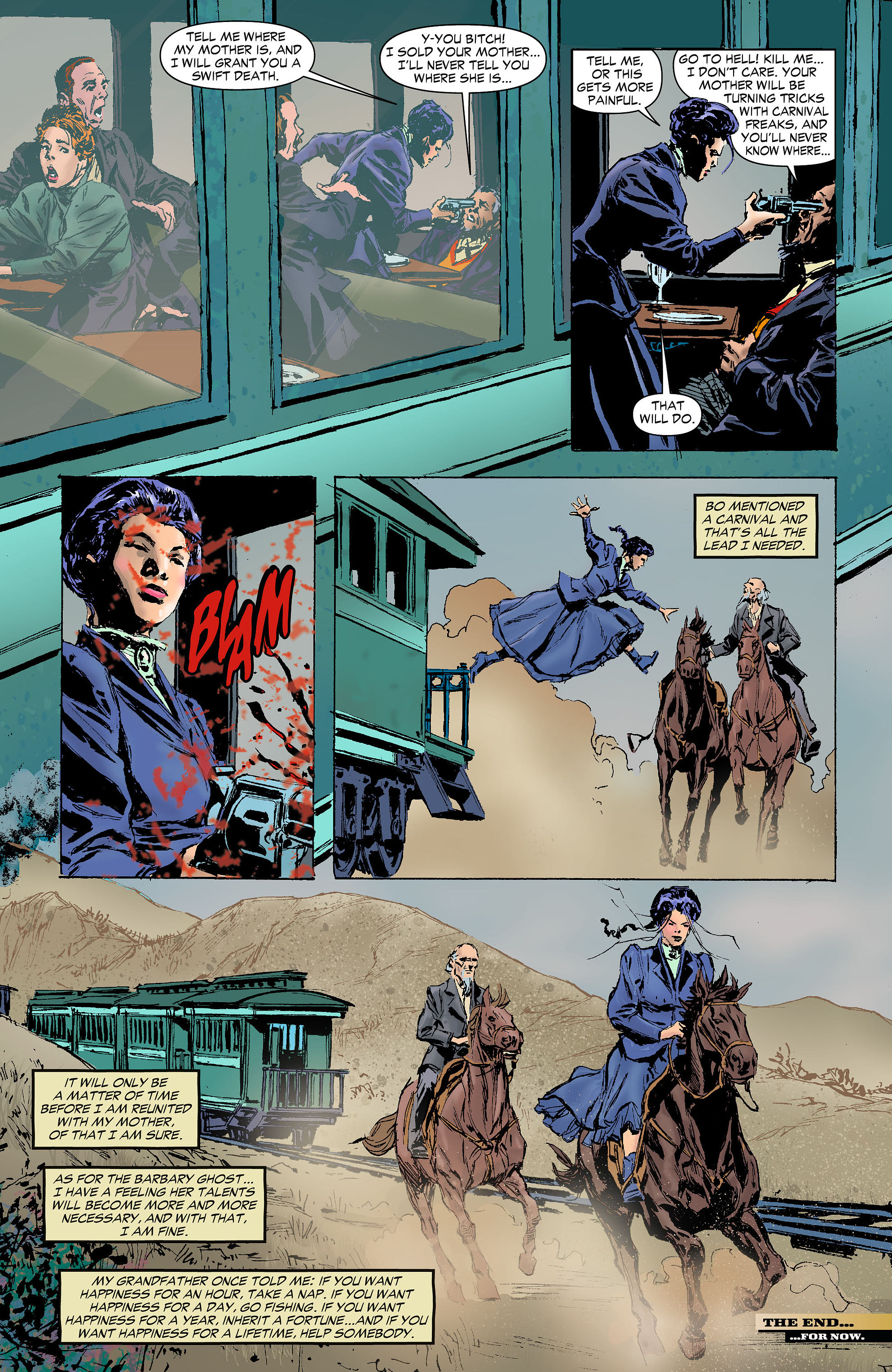 Read online All-Star Western (2011) comic -  Issue #6 - 29