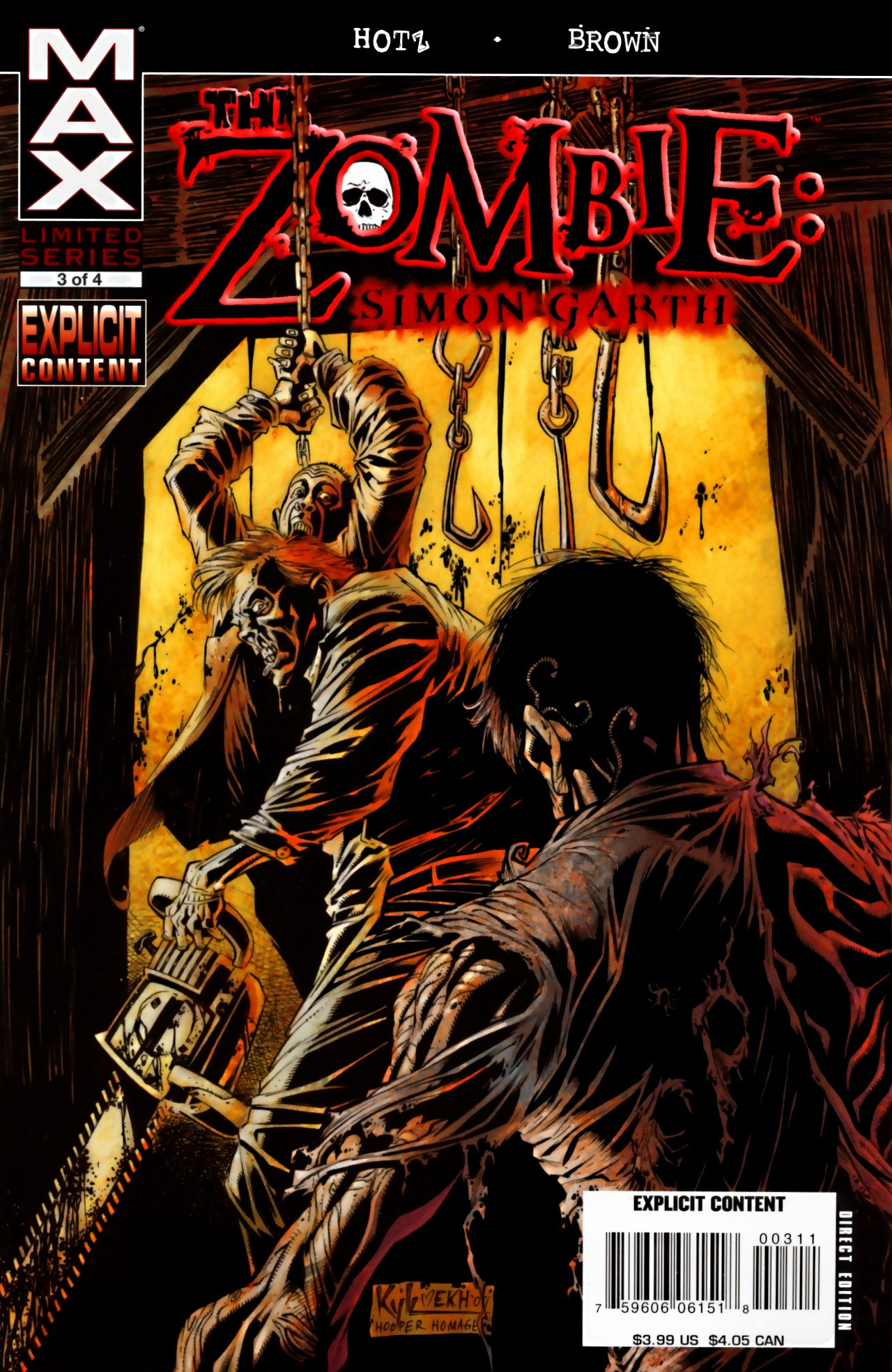 The Zombie: Simon Garth 3 Page 1