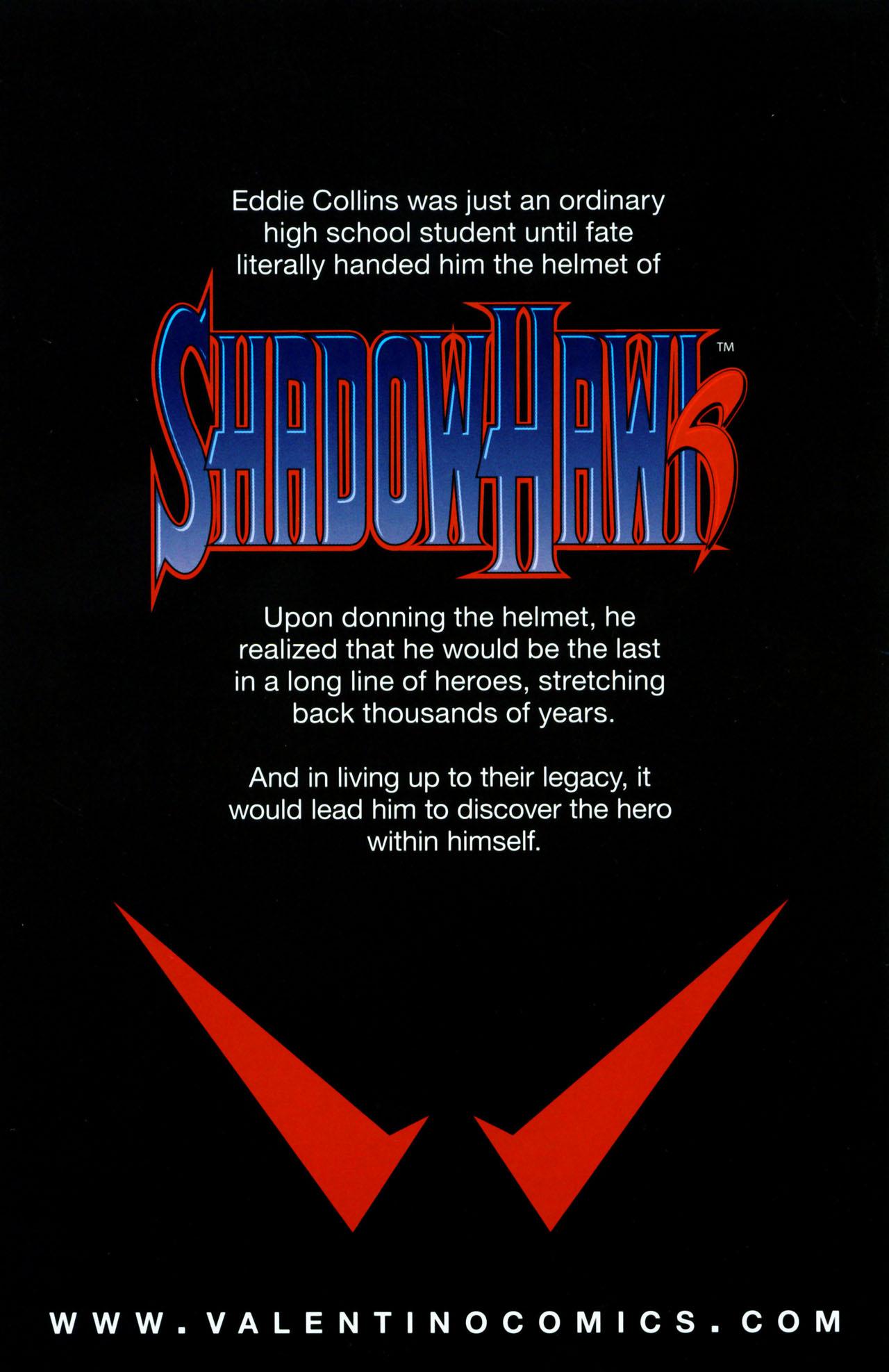 Read online ShadowHawk (2005) comic -  Issue #1 - 35