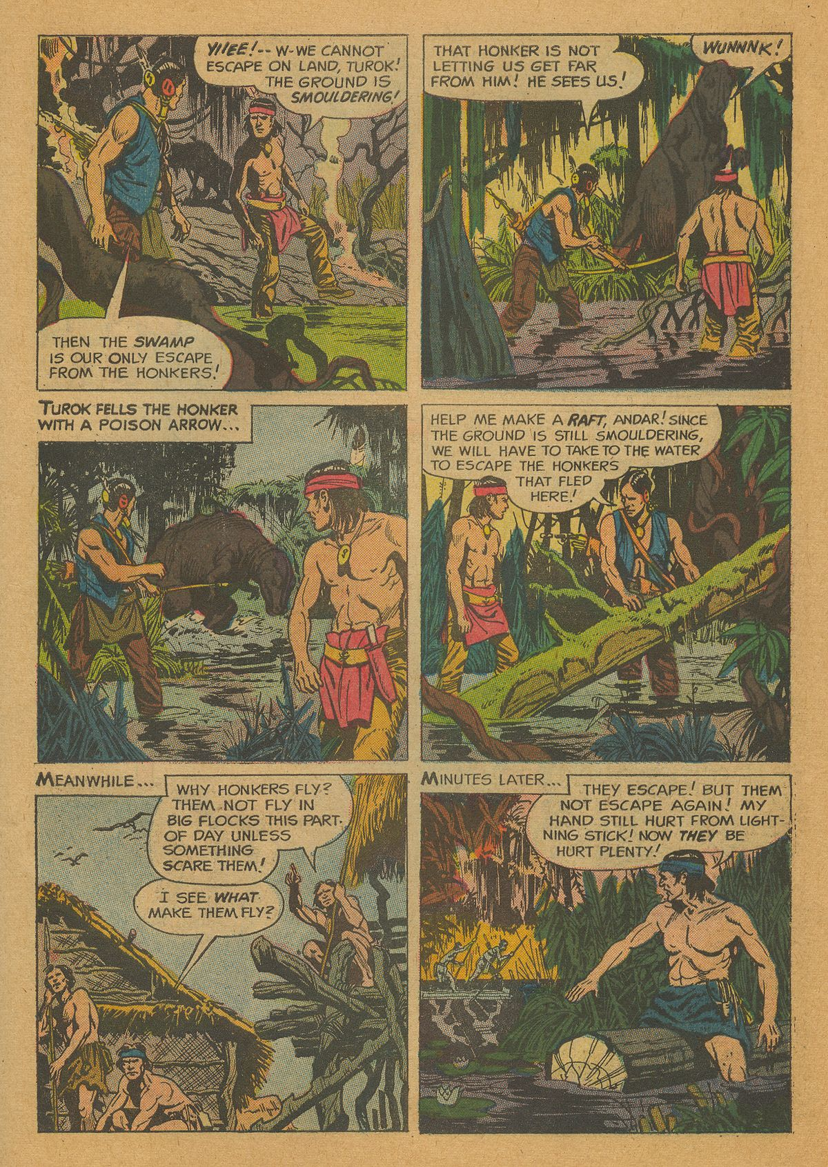 Read online Turok, Son of Stone comic -  Issue #26 - 26