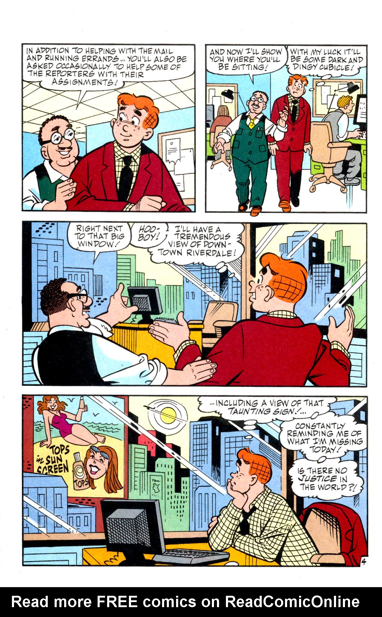 Read online Archie (1960) comic -  Issue #575 - 23