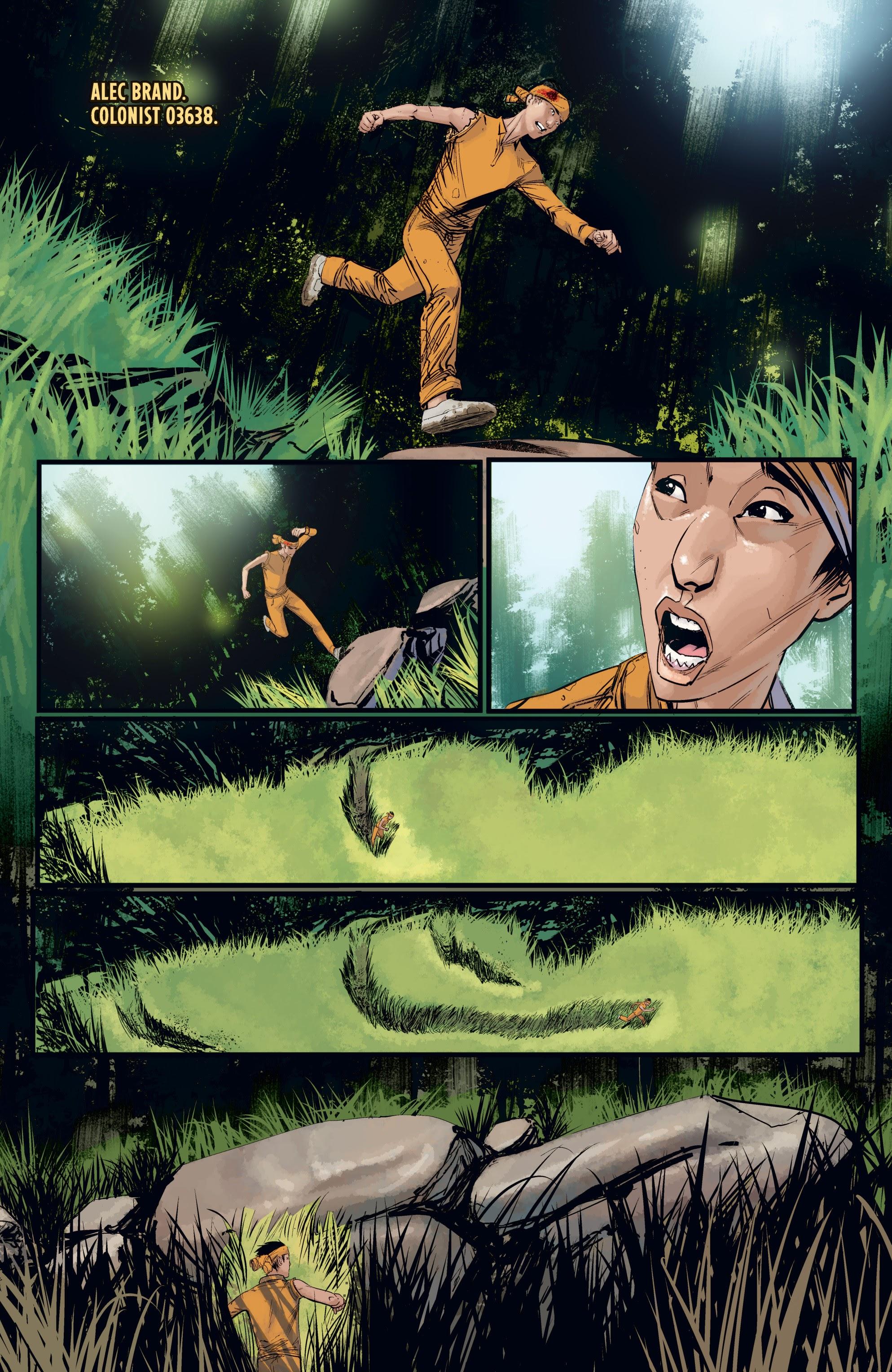 Read online Aliens: Resistance comic -  Issue # _TPB - 60