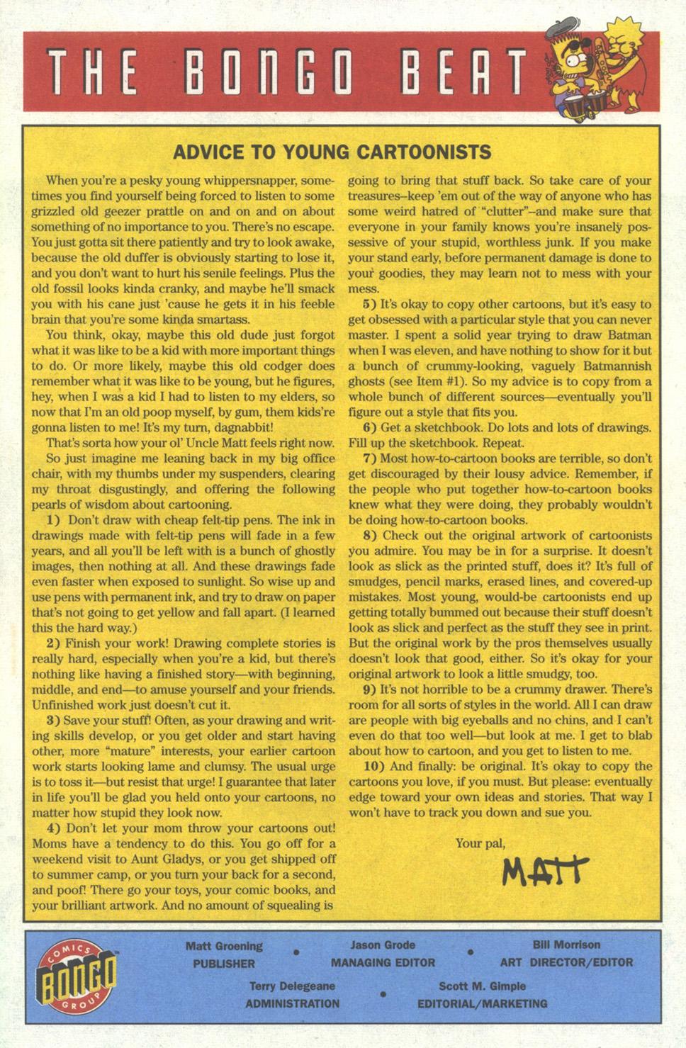 Read online Simpsons Comics comic -  Issue #18 - 23