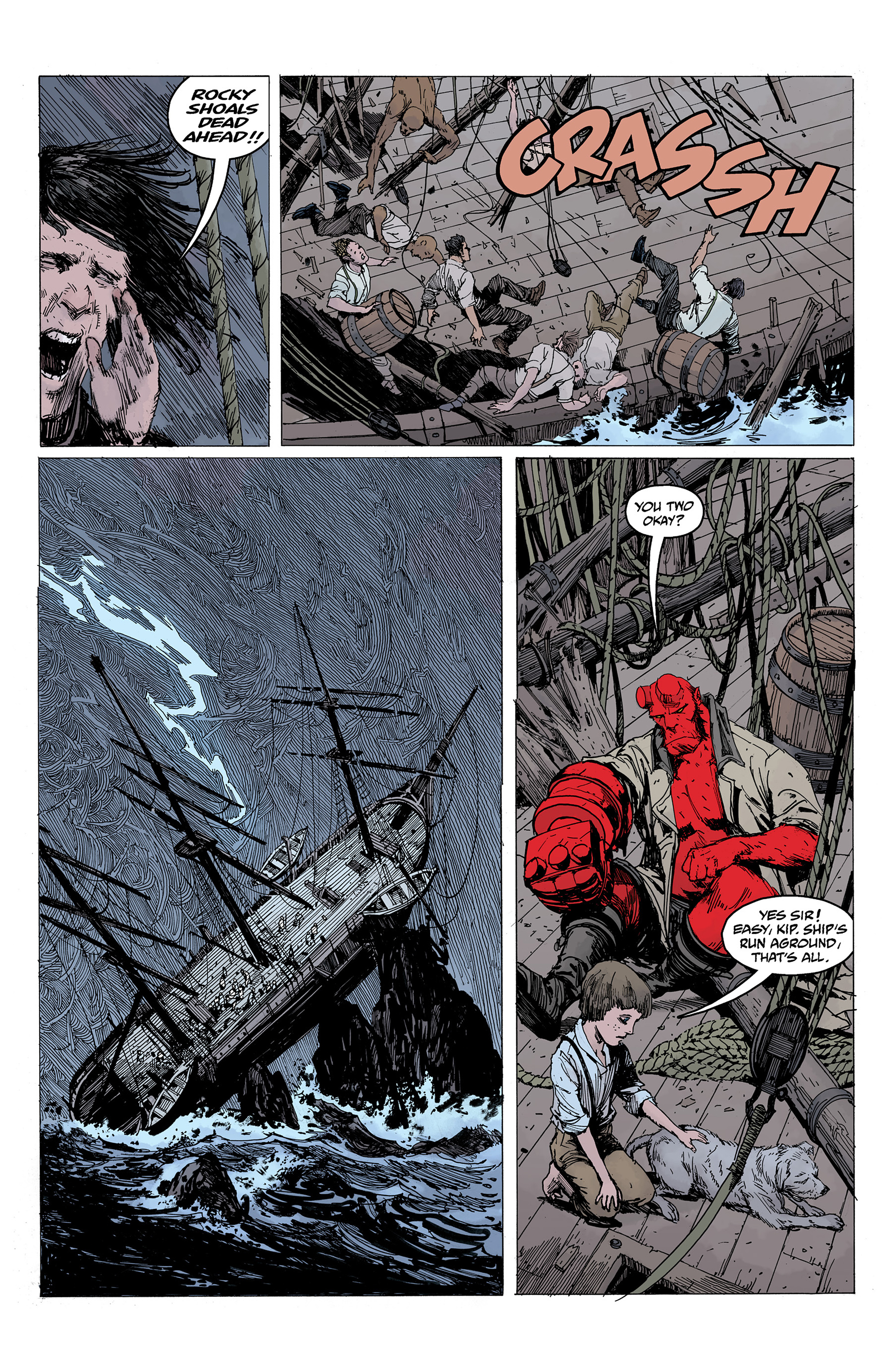 Read online Hellboy: Into the Silent Sea comic -  Issue # Full - 43