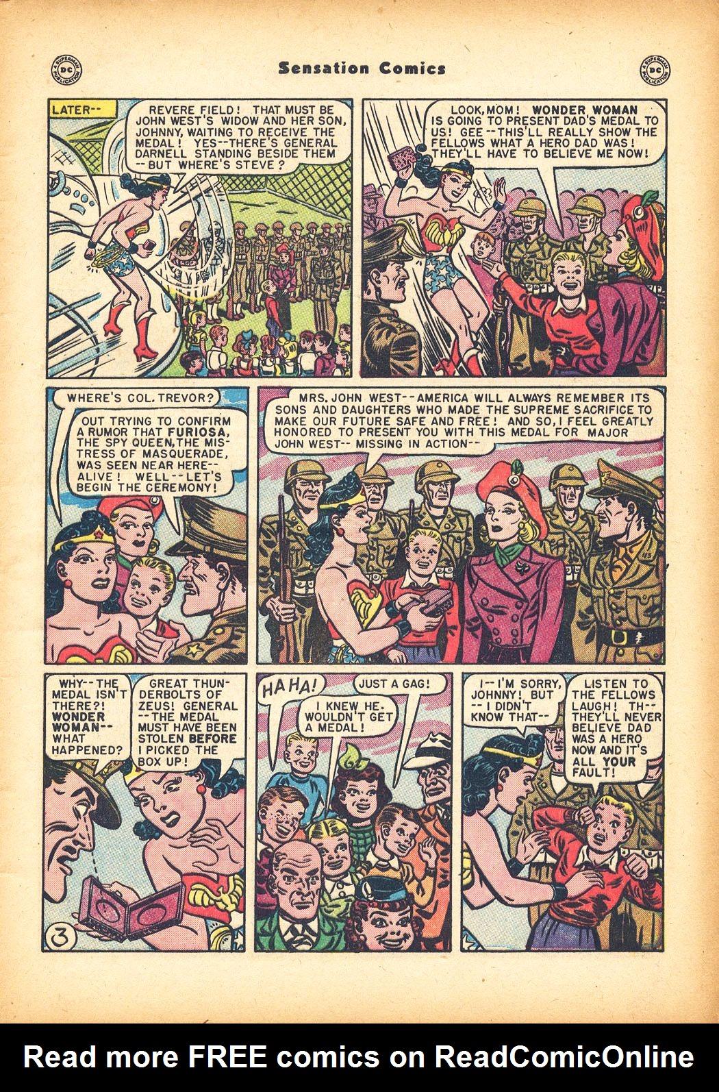 Read online Sensation (Mystery) Comics comic -  Issue #78 - 5