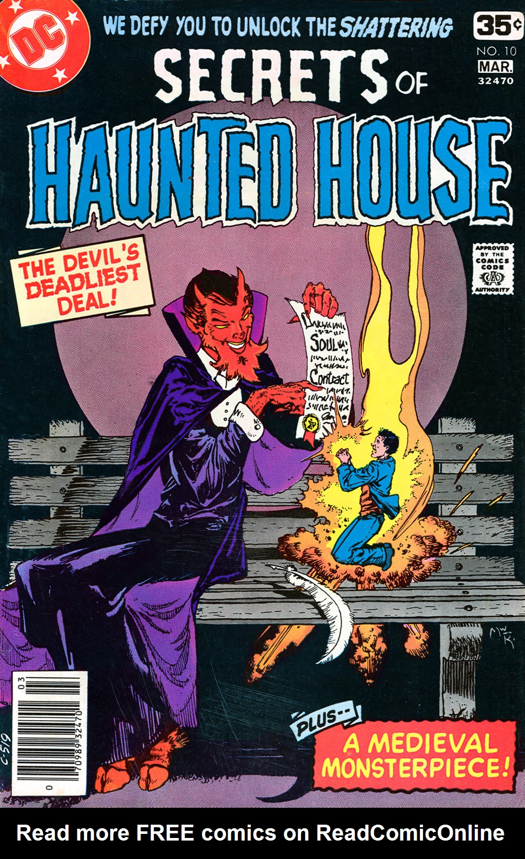 Read online Secrets of Haunted House comic -  Issue #10 - 1