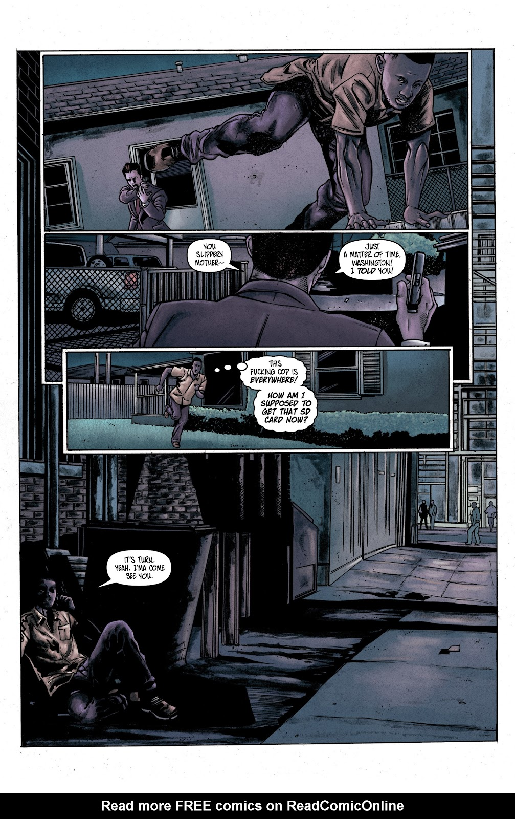 Read online Vindication comic -  Issue #2 - 5