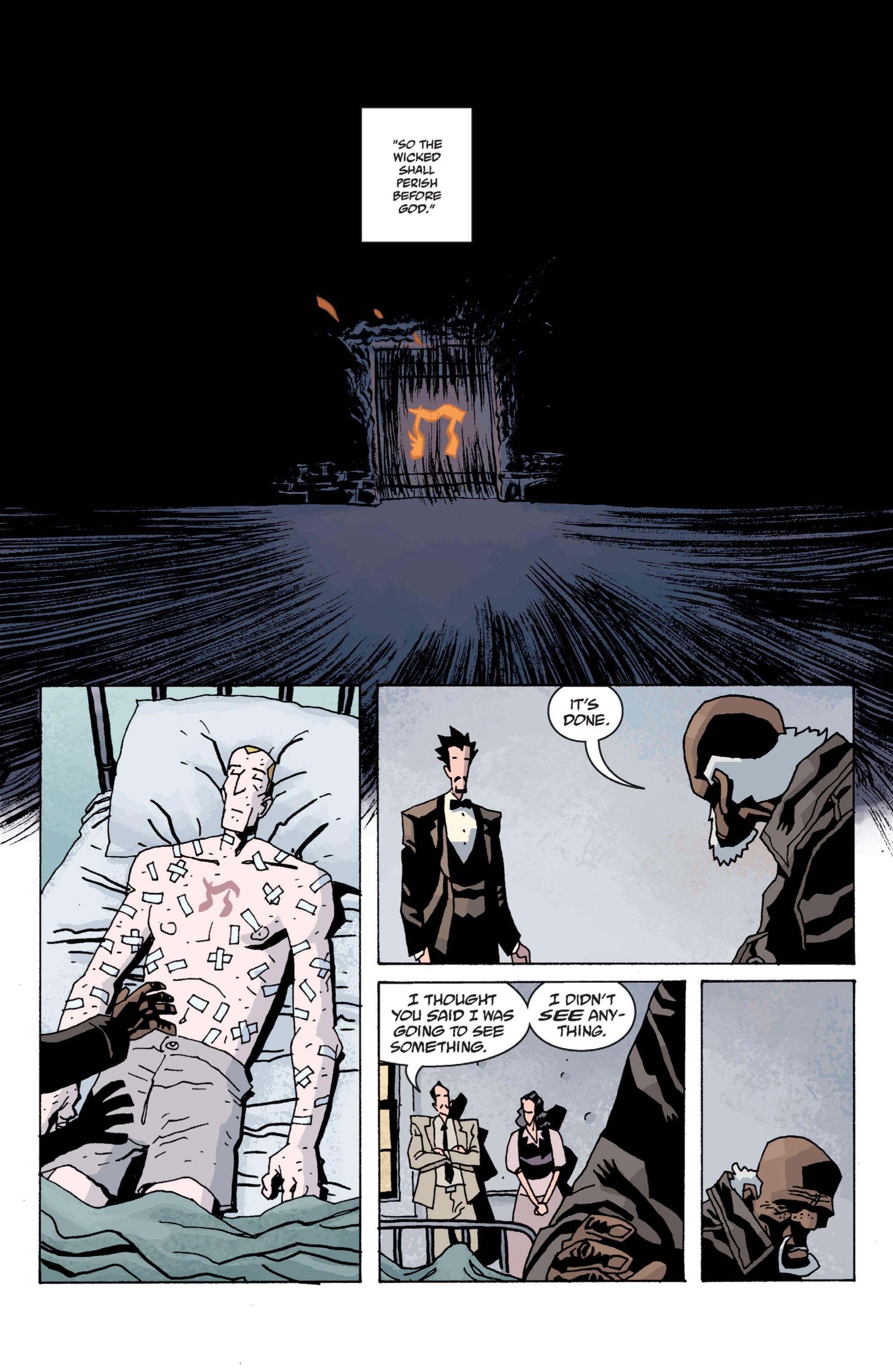 Read online B.P.R.D. (2003) comic -  Issue # TPB 13 - 129