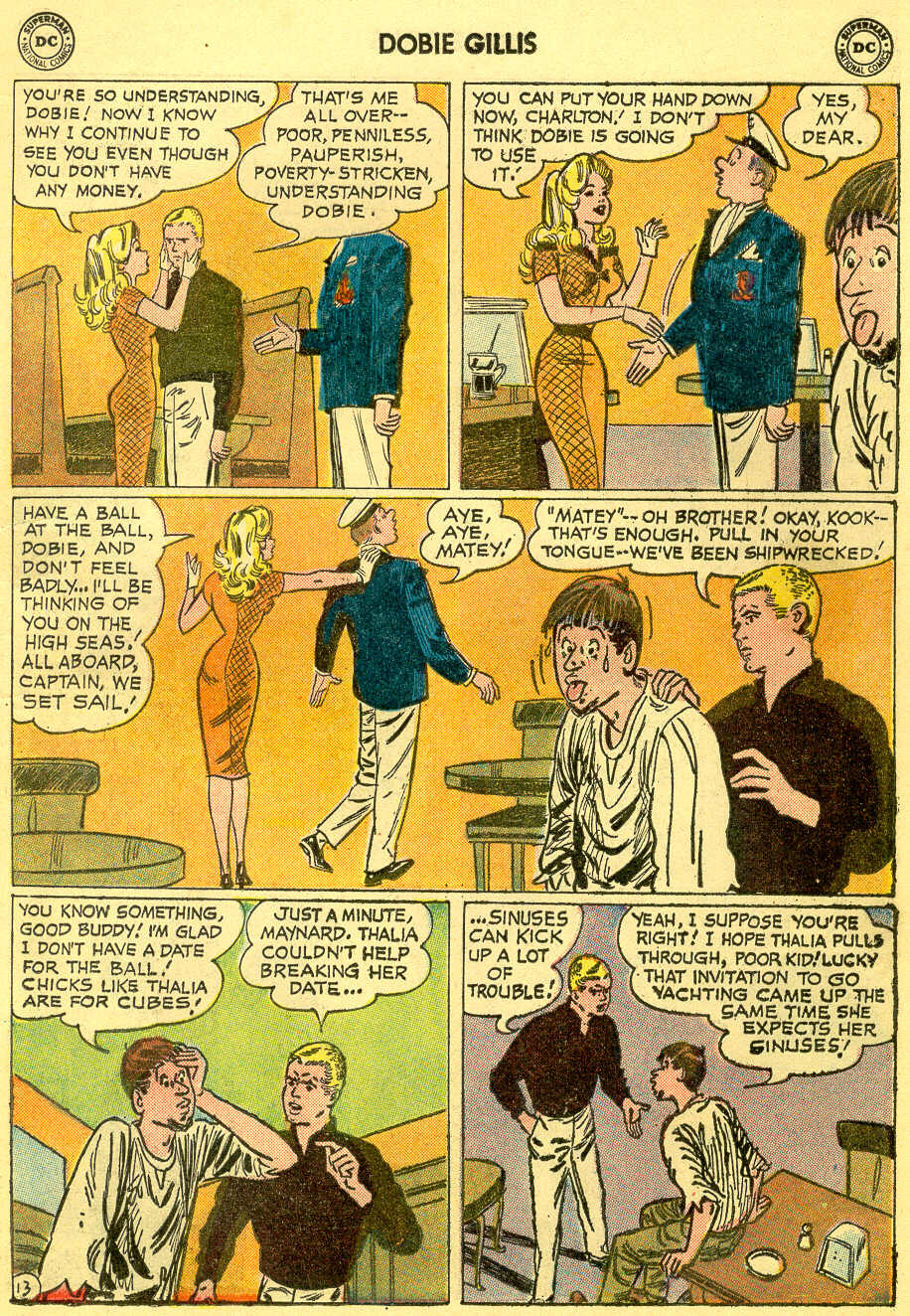 Many Loves of Dobie Gillis issue 4 - Page 17
