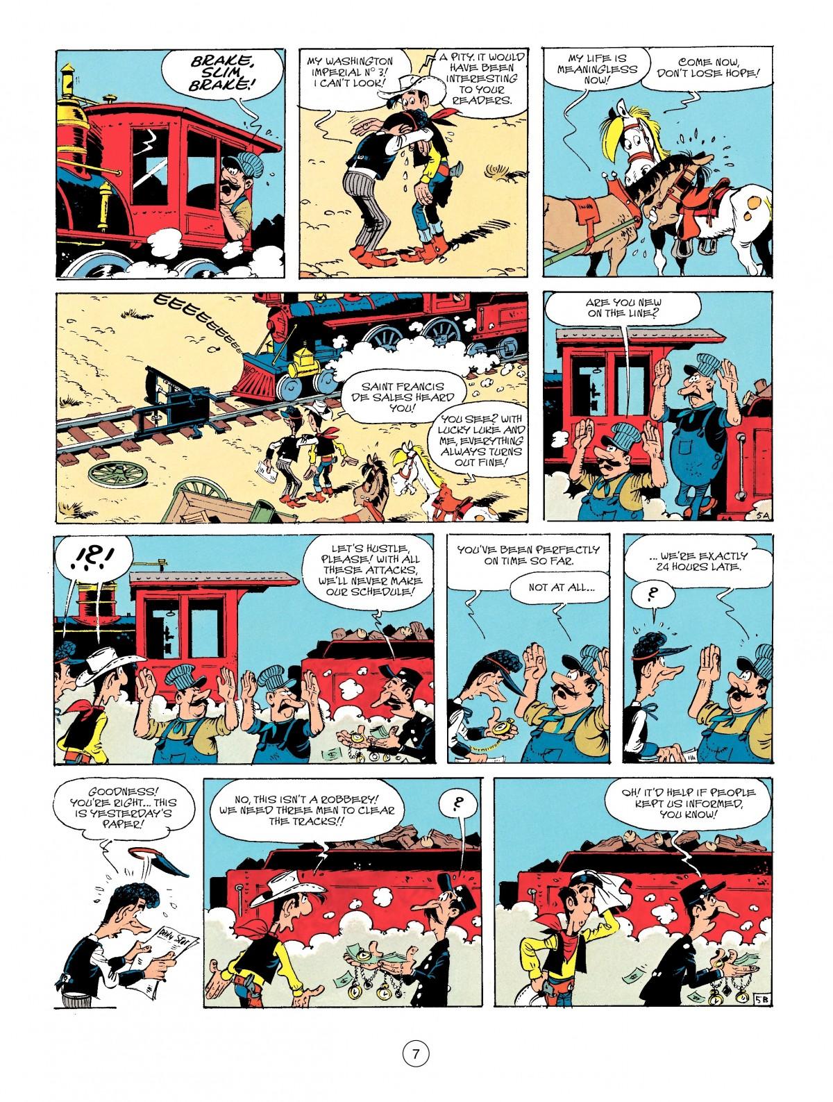 Read online A Lucky Luke Adventure comic -  Issue #41 - 7