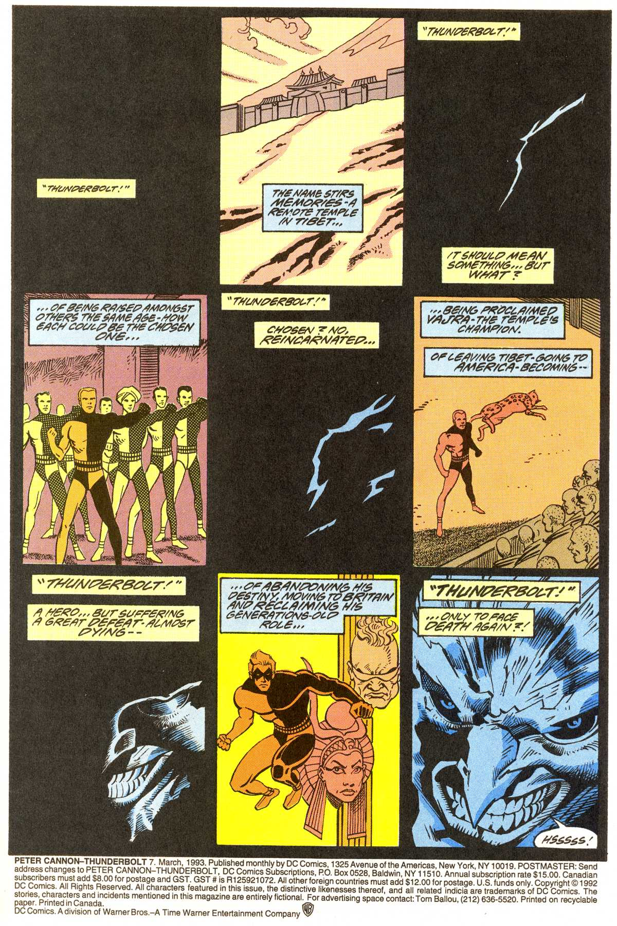 Read online Peter Cannon--Thunderbolt (1992) comic -  Issue #7 - 2