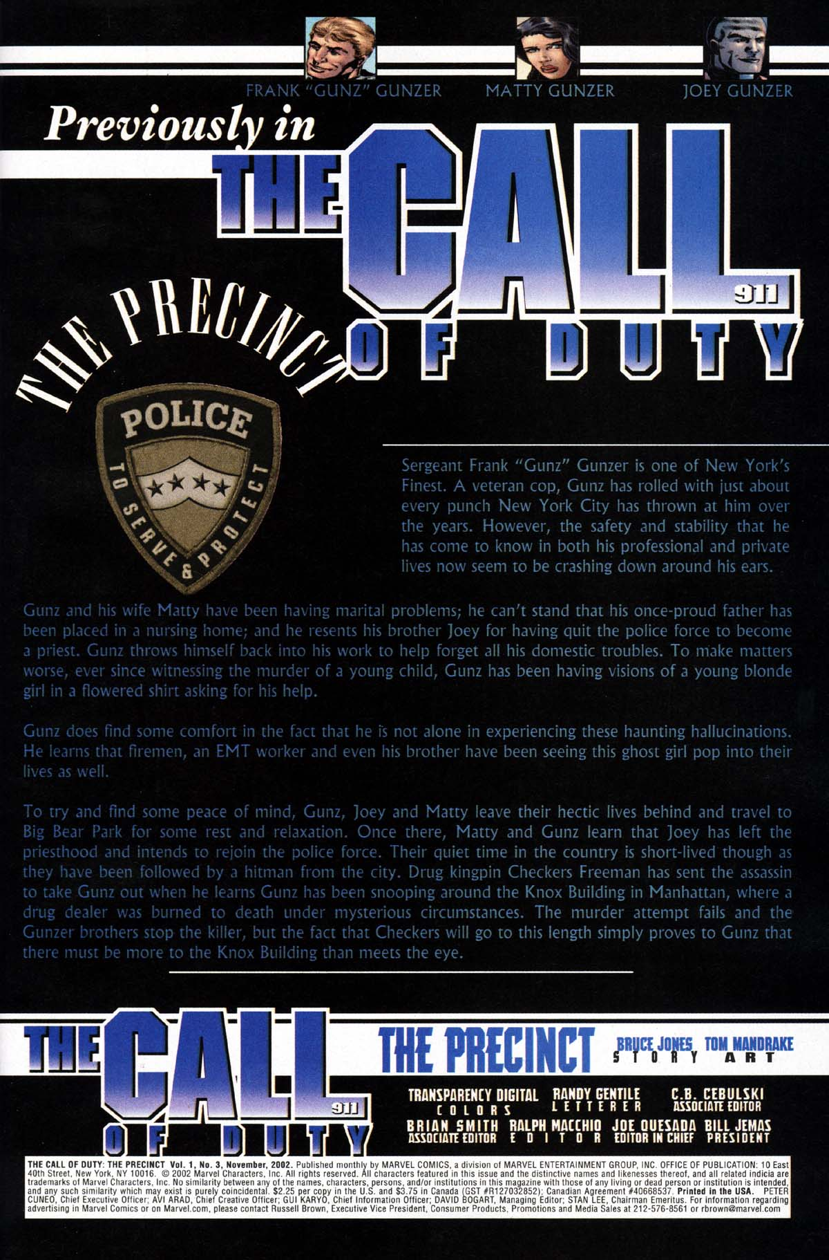 The Call of Duty: The Precinct 3 Page 2