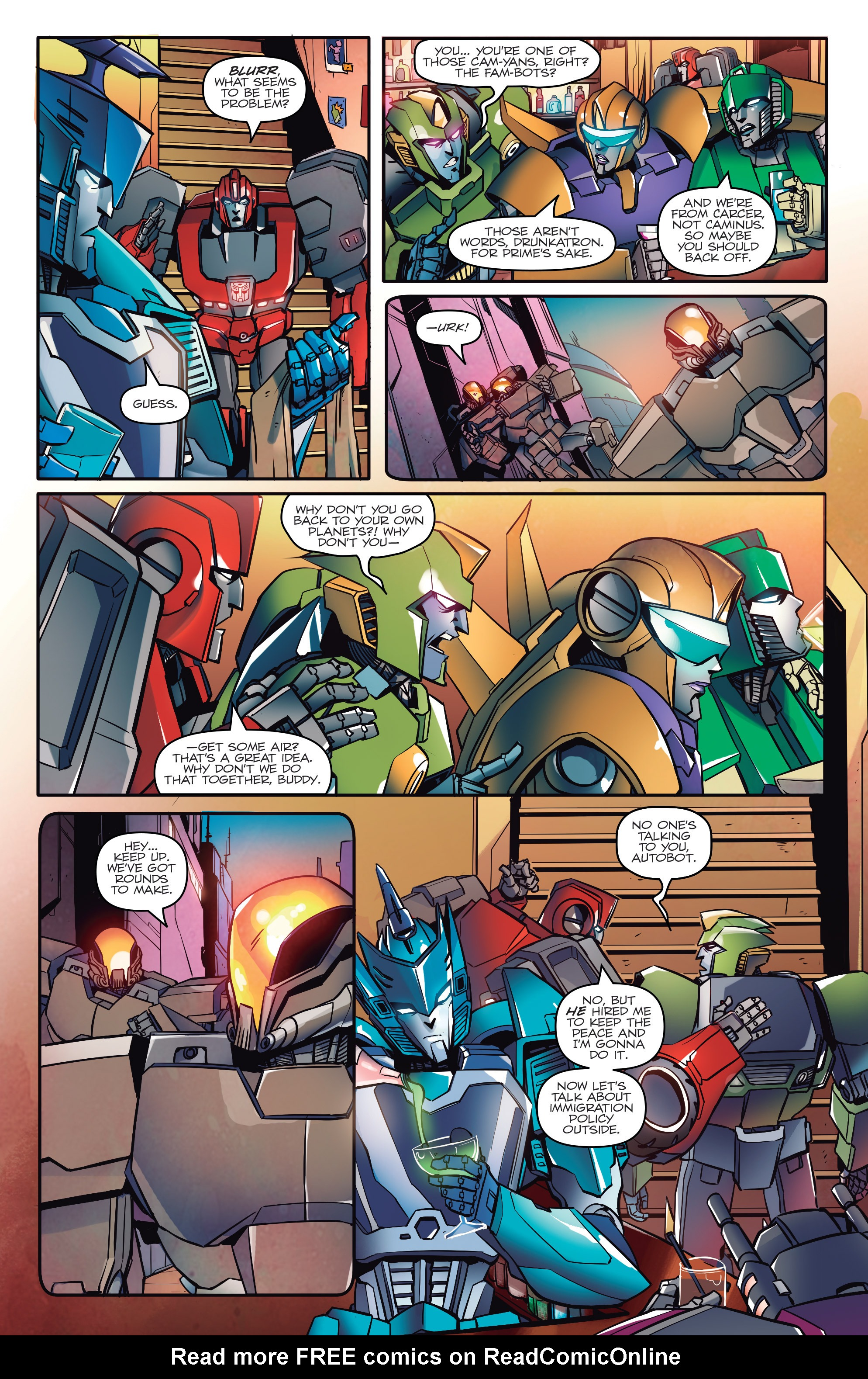Read online Transformers: Till All Are One comic -  Issue #1 - 12