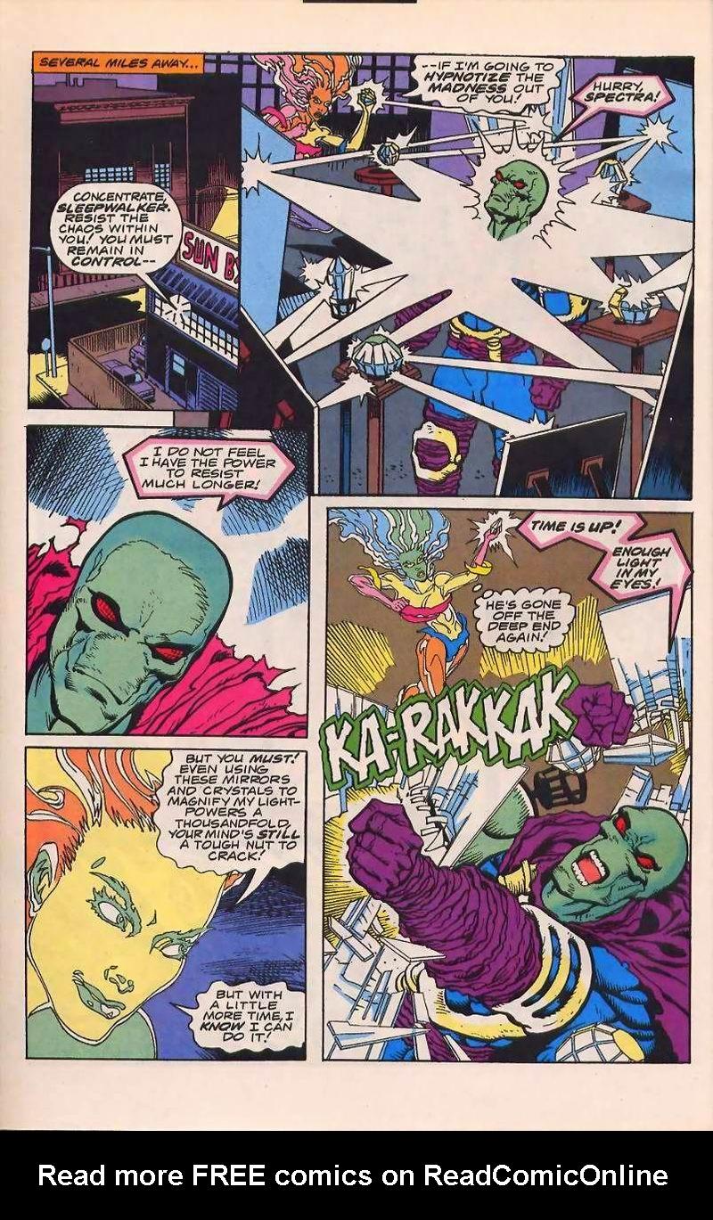 Read online Sleepwalker comic -  Issue #32 - 5