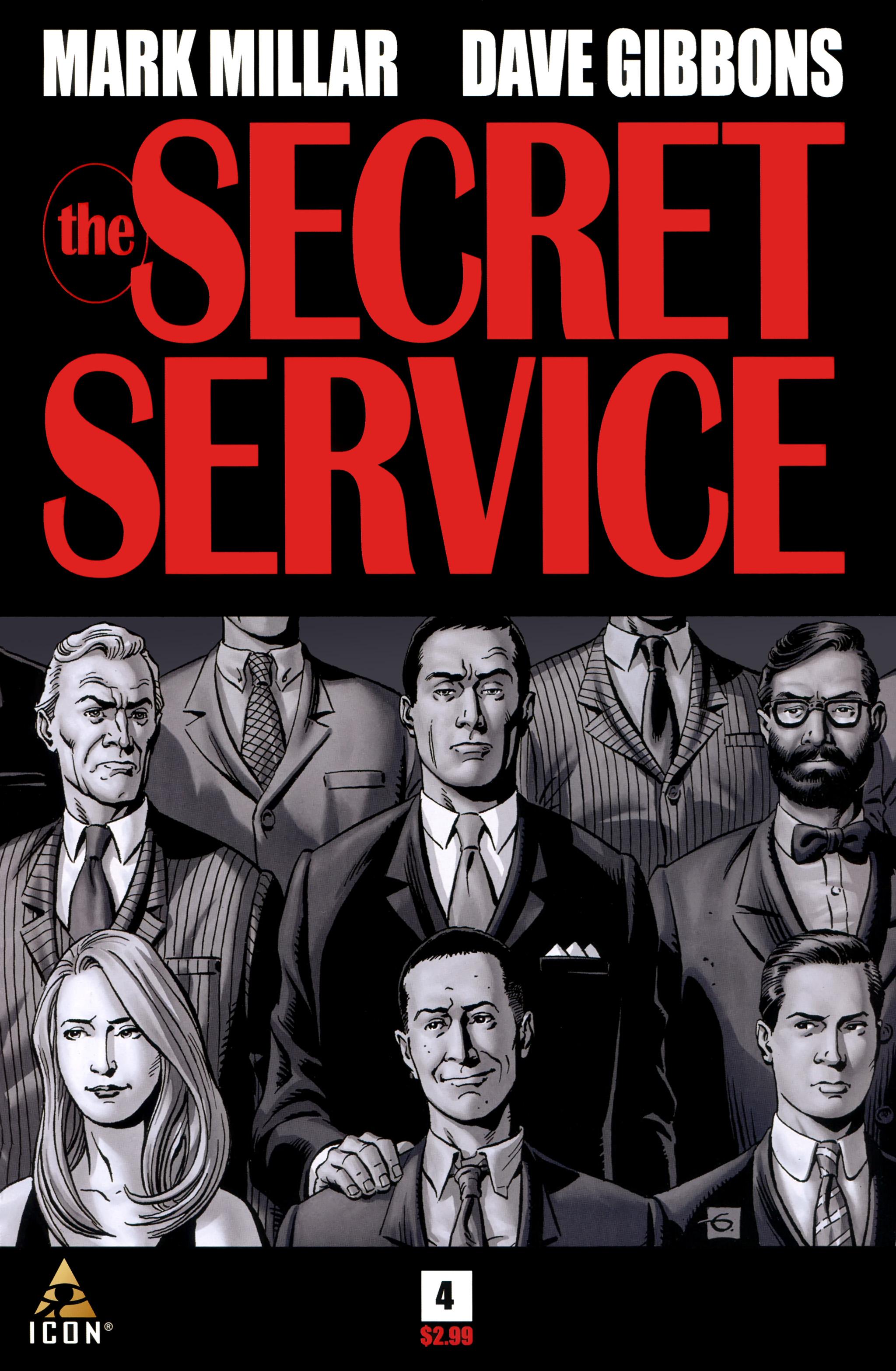 Read online Secret Service comic -  Issue #4 - 1