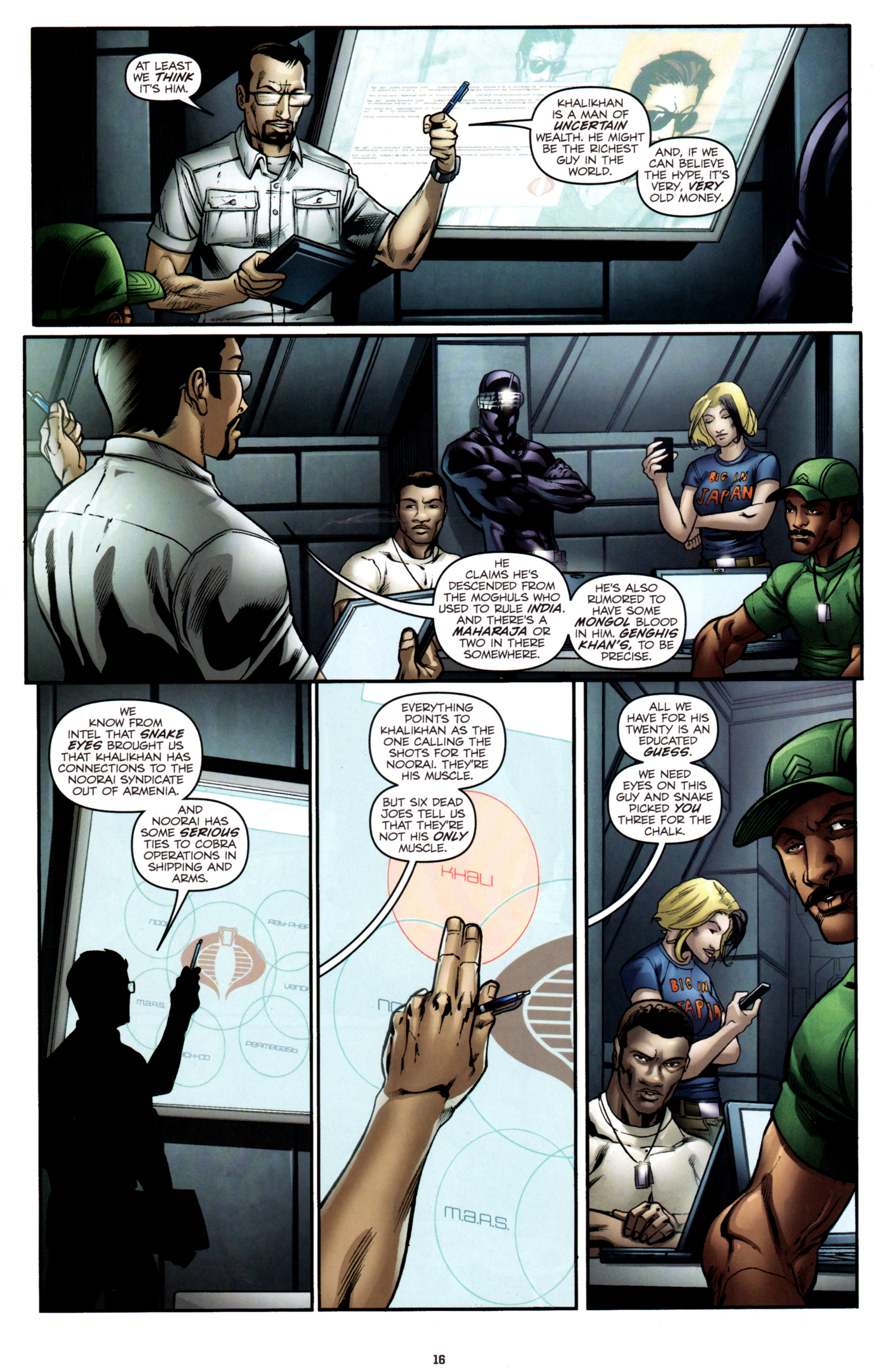 Read online G.I. Joe: Snake Eyes comic -  Issue #2 - 19