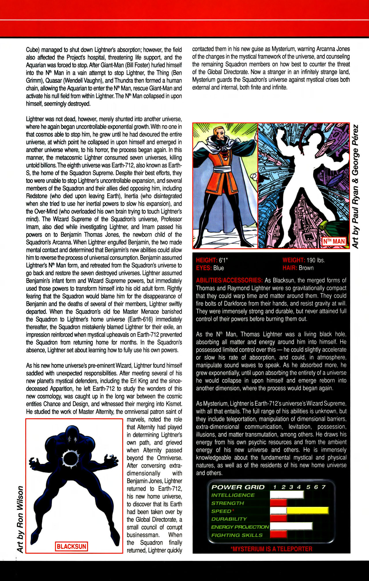 Read online All-New Official Handbook of the Marvel Universe A to Z comic -  Issue #7 - 60