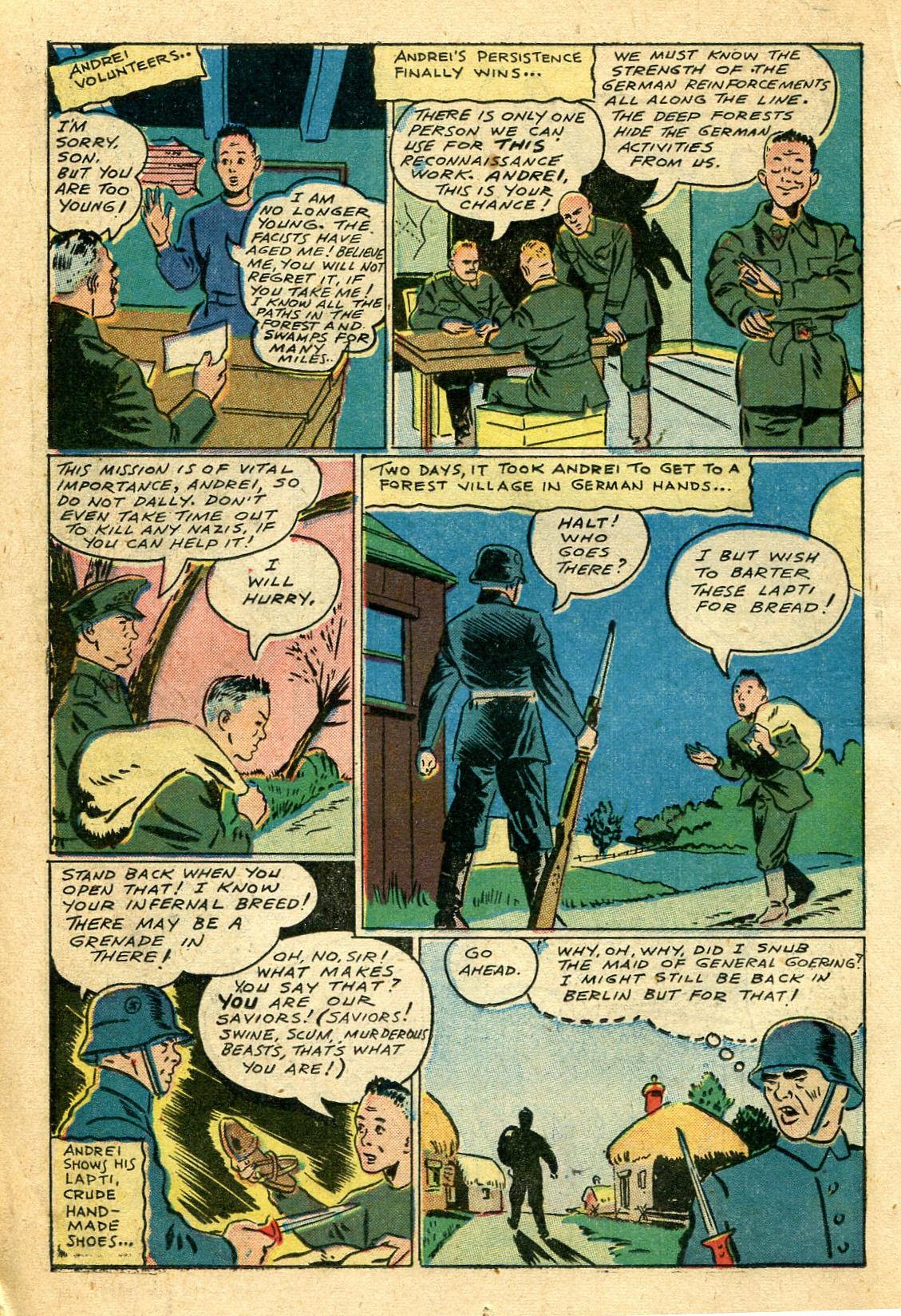 Read online Shadow Comics comic -  Issue #44 - 33