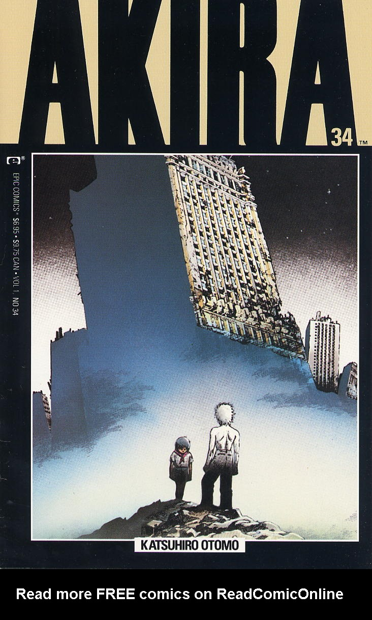 Read online Akira comic -  Issue #34 - 1
